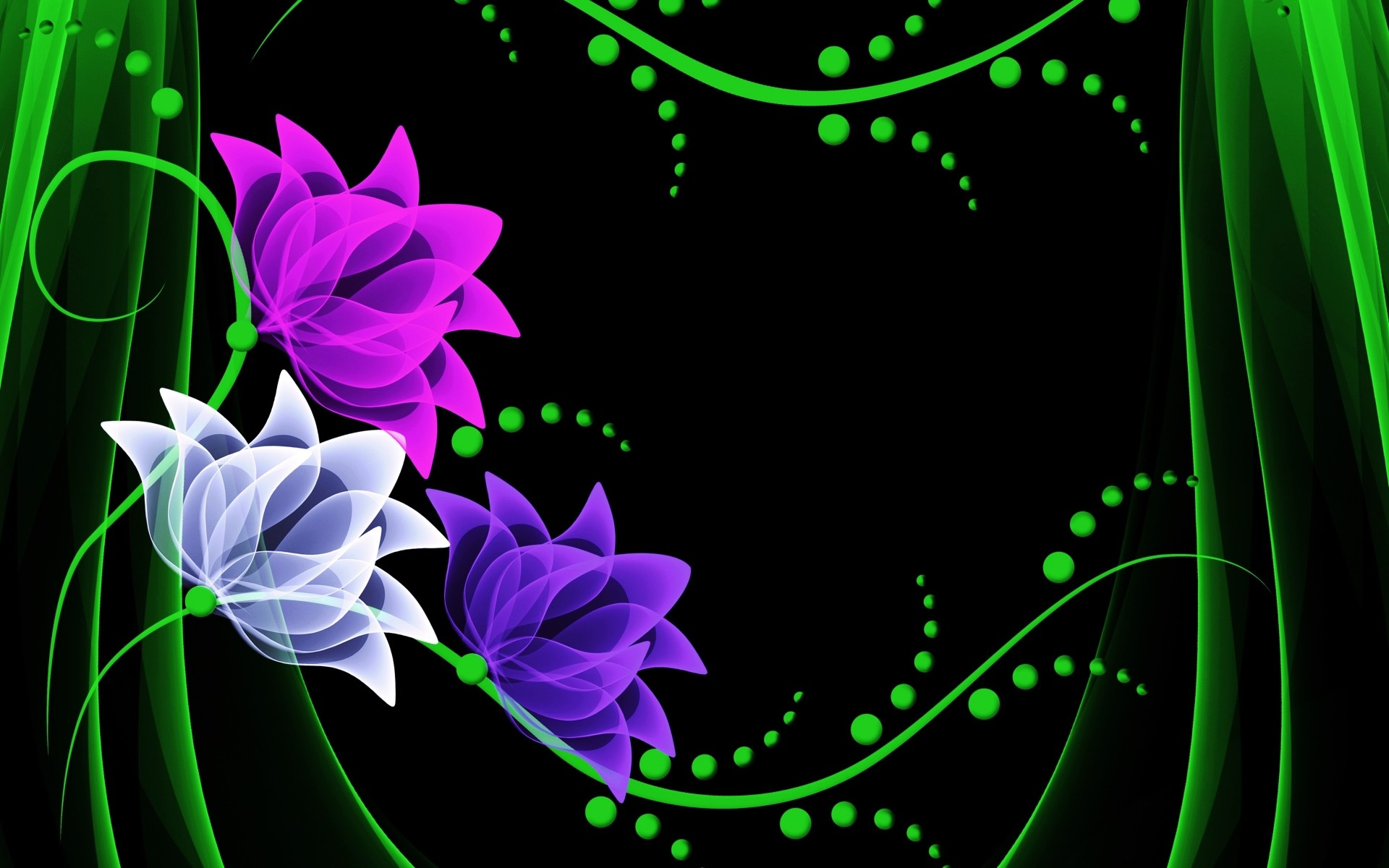 1920x1200 Purple White & Pink Flower wallpapers and stock photos