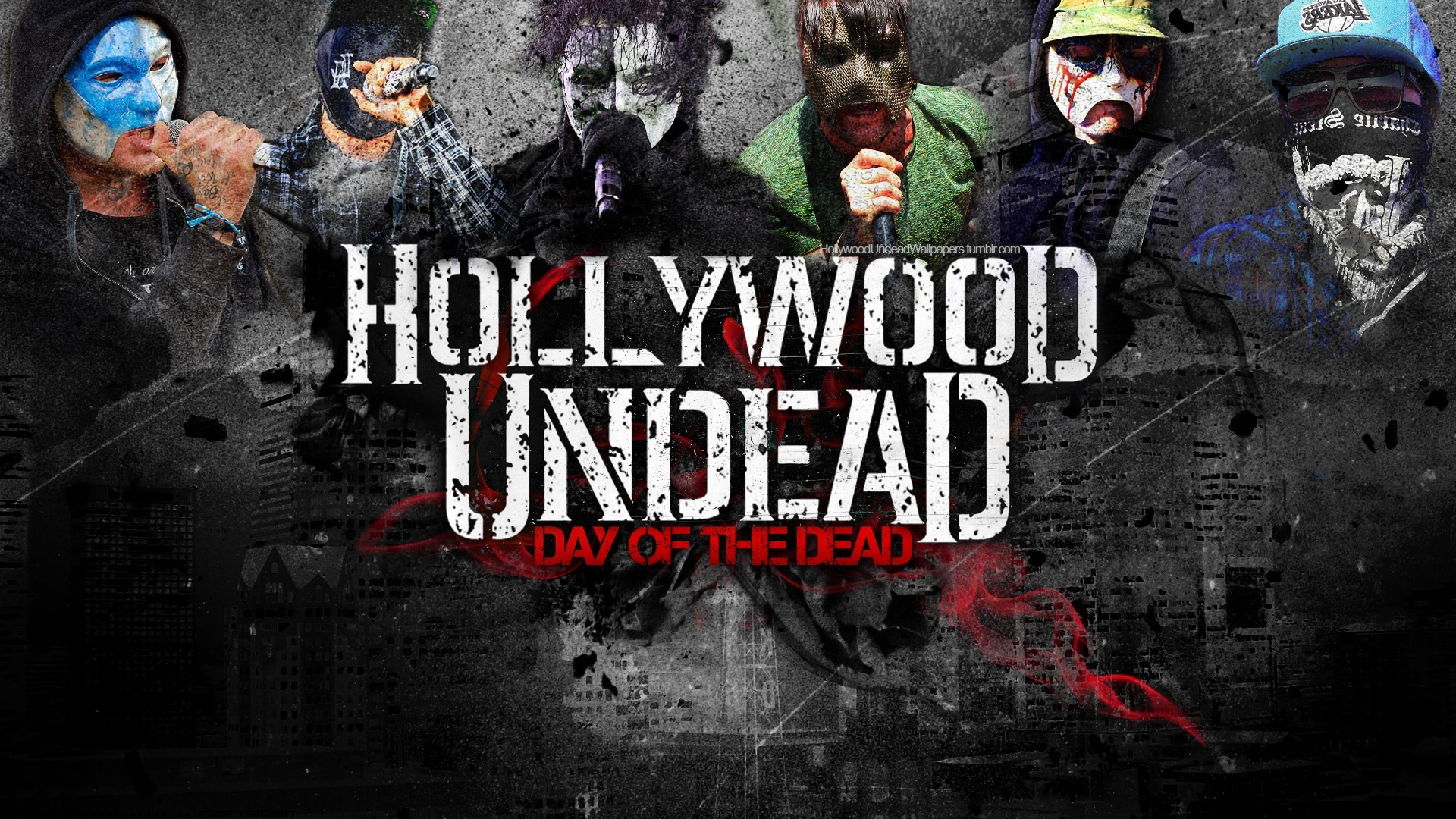1920x1080 day of the dead hollywood undead wallpaper ...