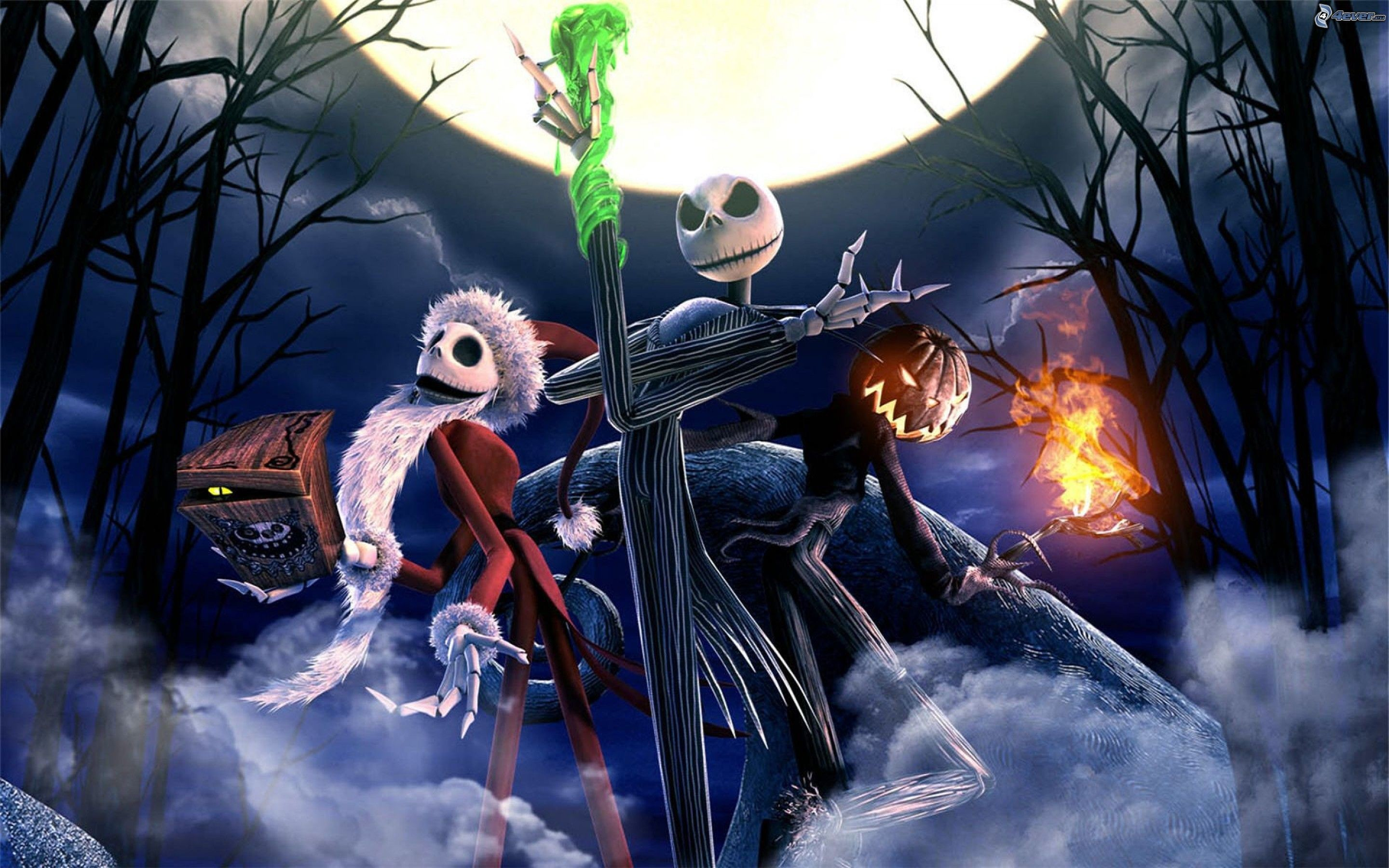 2880x1800 17 best ideas about Nightmare Before Christmas Wallpaper on .