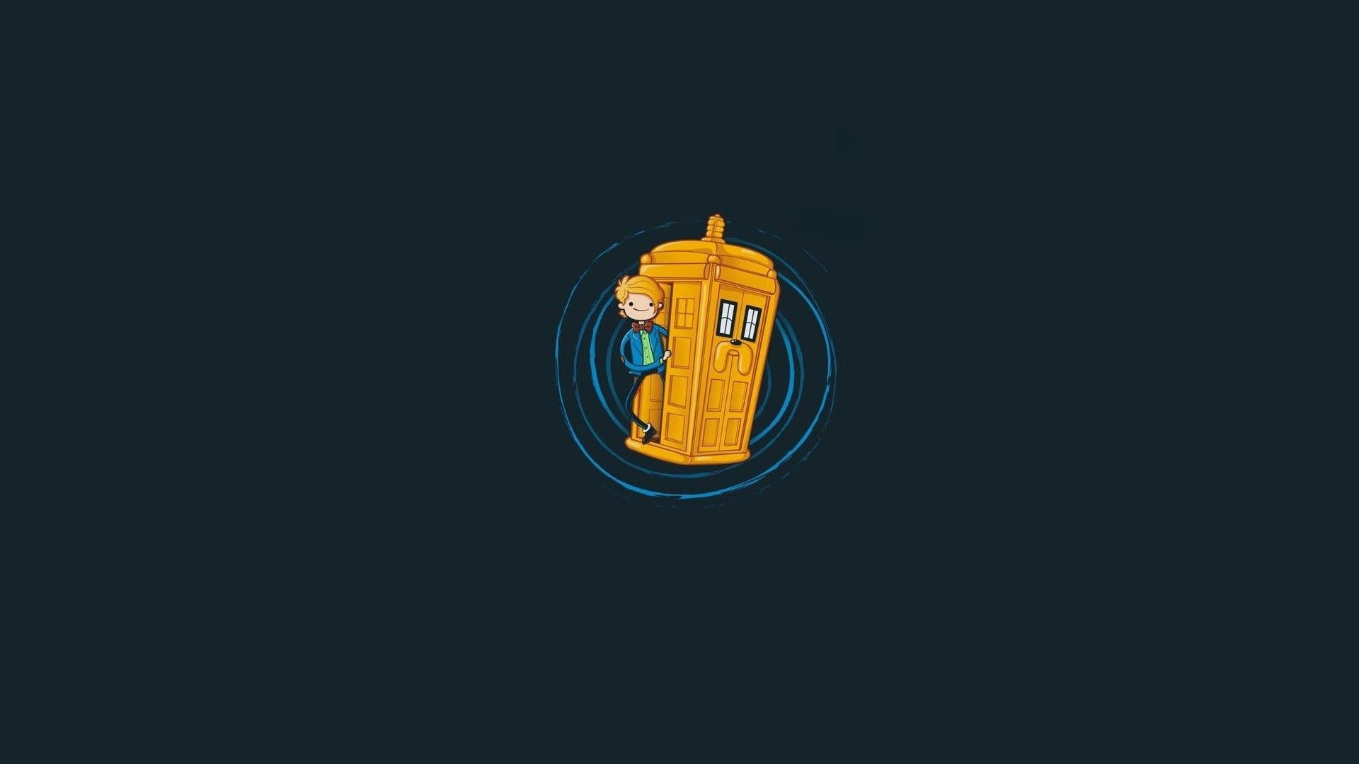 1920x1080 Adventure Time - Doctor Who crossover HD Wallpaper 1920x1080