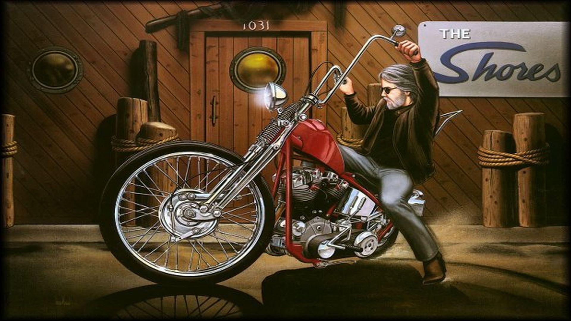 David Mann Biker Wallpaper 64 Images