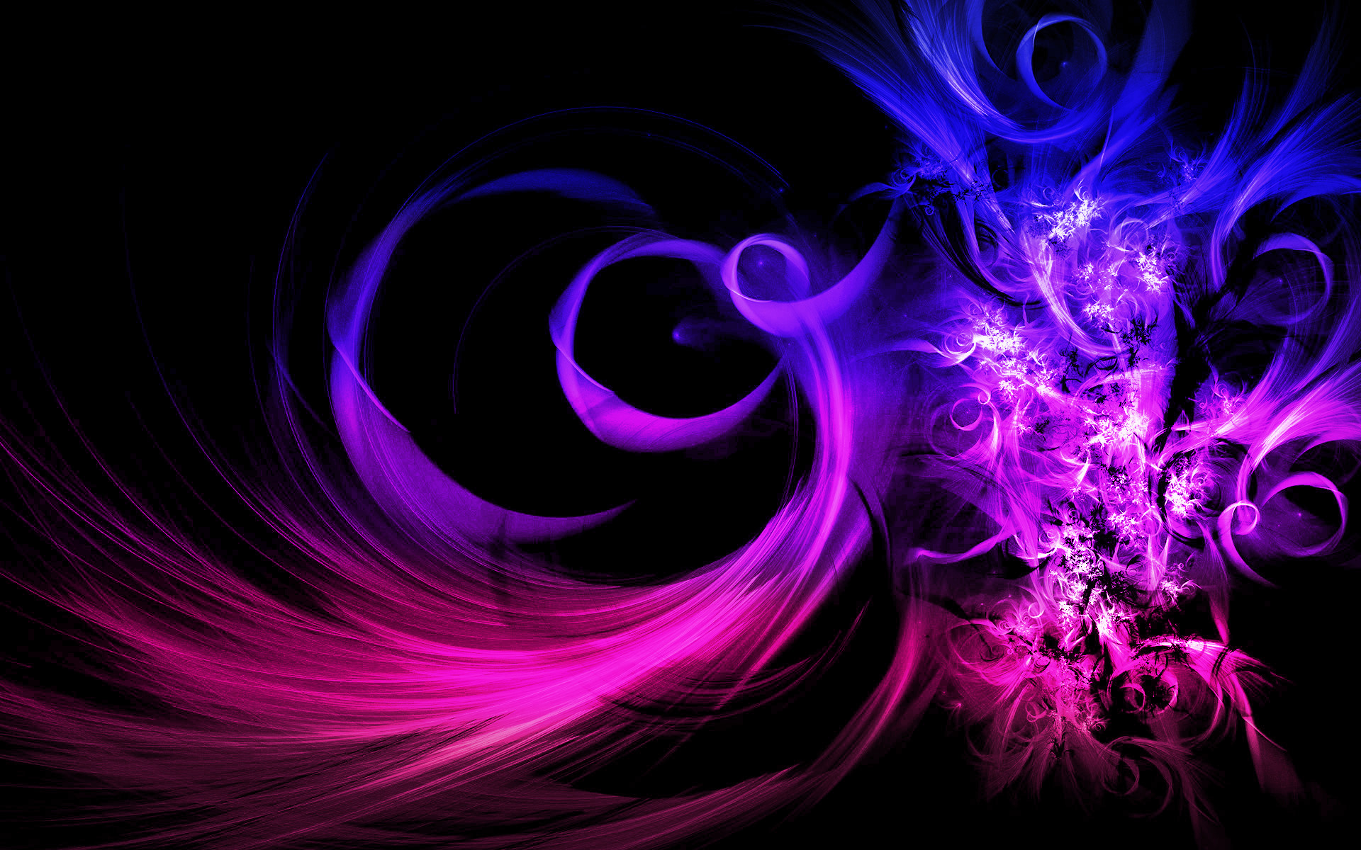 Pink Purple And Blue Wallpapers 73 Images