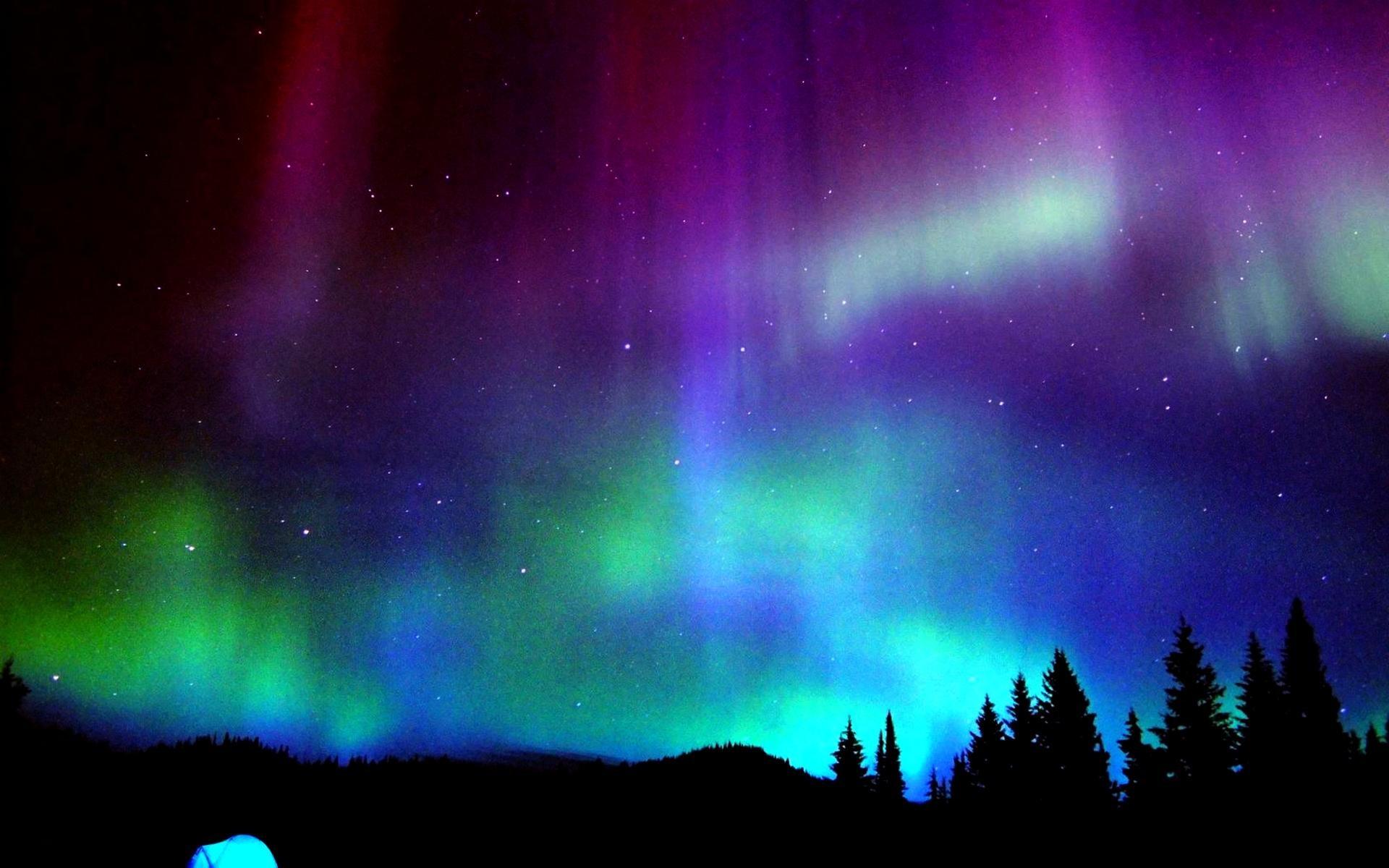 Sfondi desktop aurore boreali