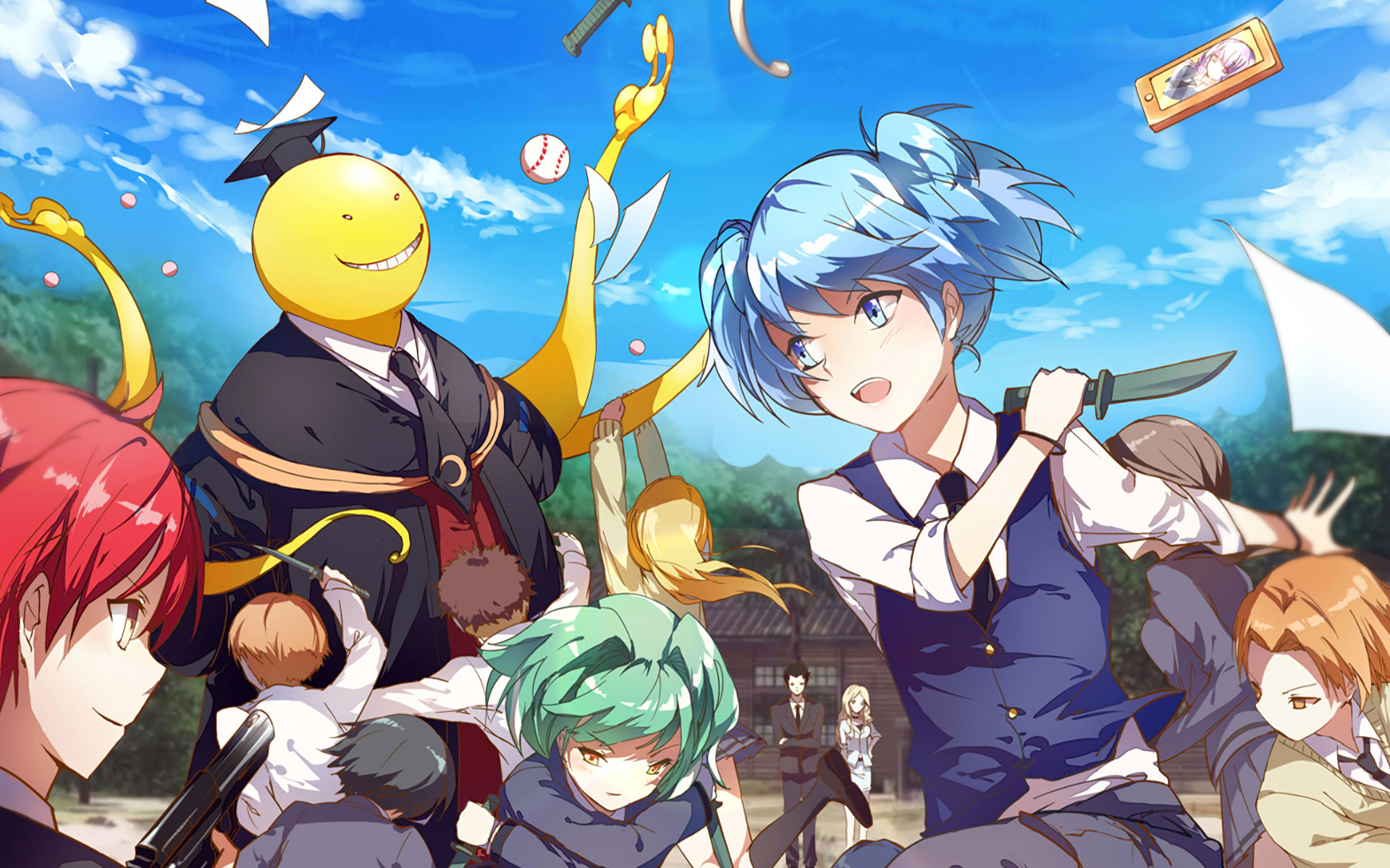 1920x1200 HD Wallpaper | Background ID:704255.  Anime Assassination Classroom
