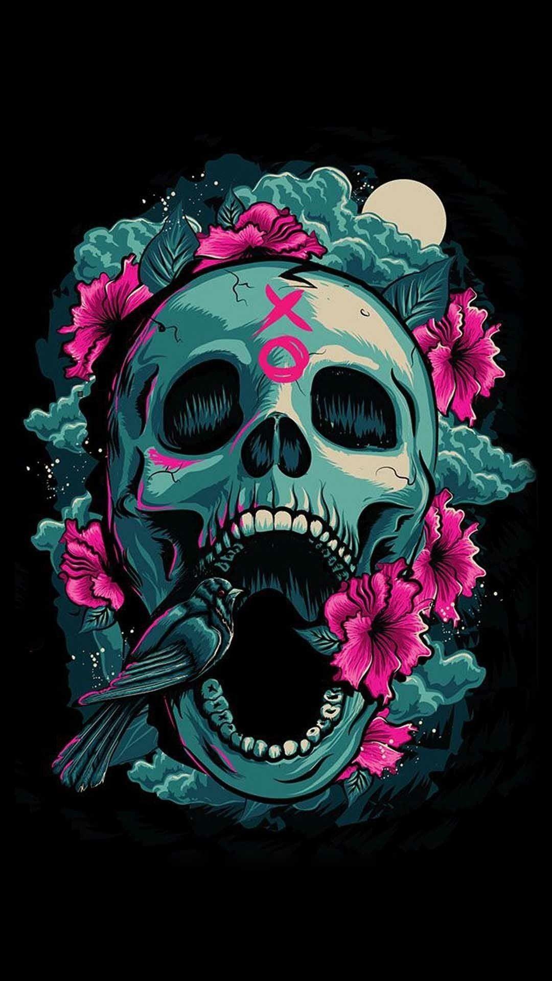 Sugar Skull Wallpaper for Home (69+ images)