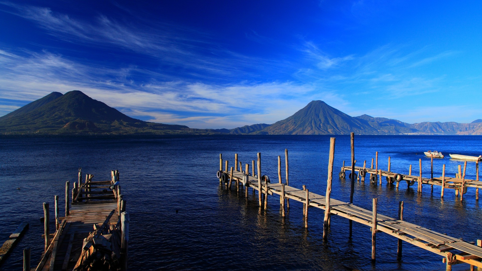 1920x1080 ... Background Full HD 1080p.  Wallpaper guatemala, island,  mountain, beach