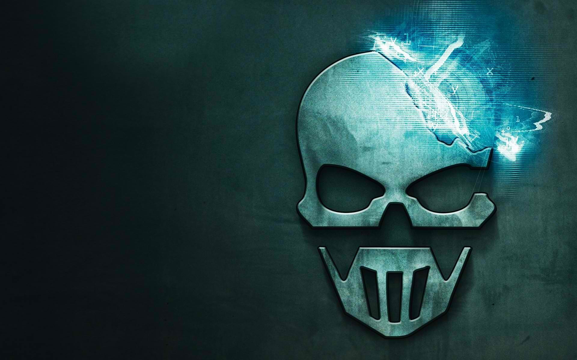 1920x1200  Video Game - Tom Clancy's Ghost Recon: Future Soldier Ghost  Reccon Game Logo Skull Wallpaper
