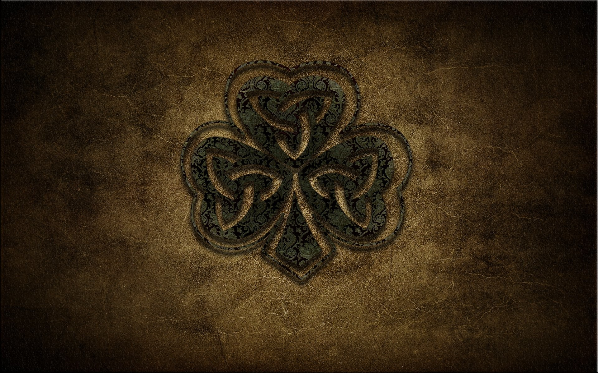 1920x1200 Irish Shamrock HD Widescreen Wallpapers - UKI-Full HD Pics