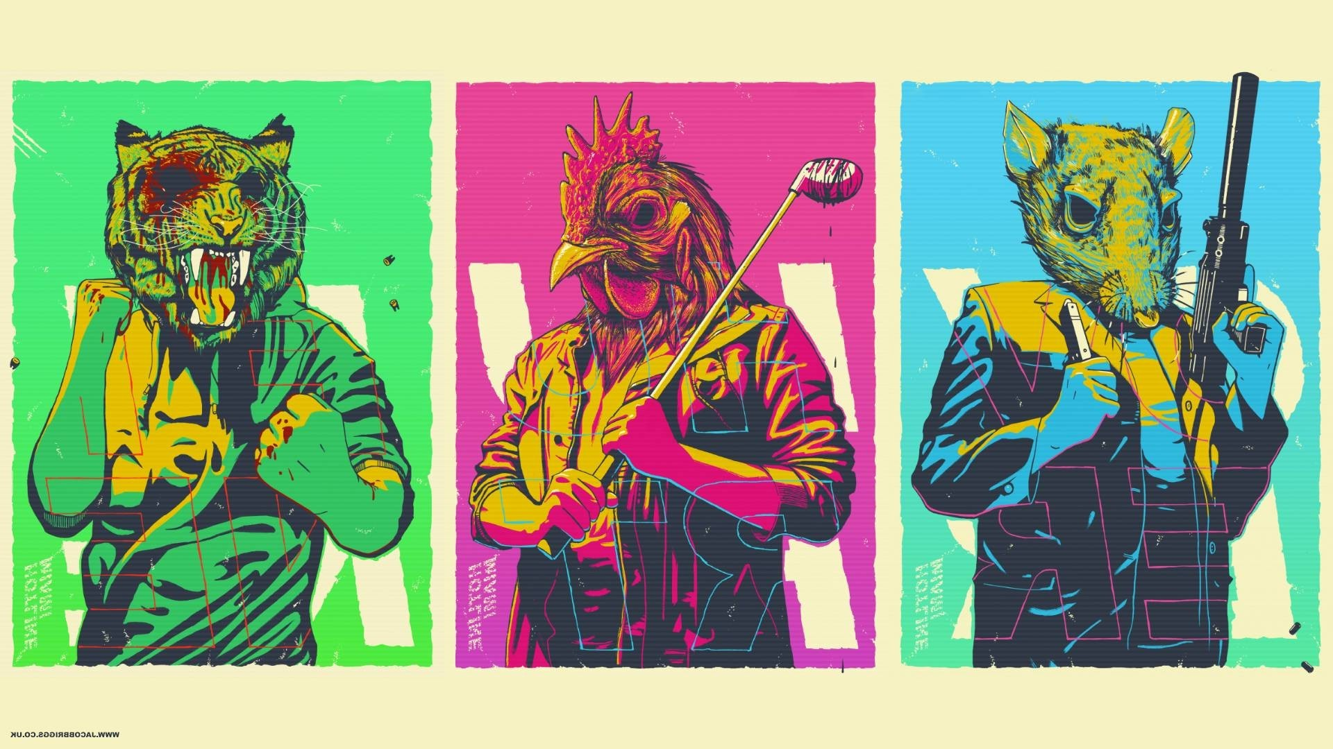 1920x1080 Hotline Miami, Video Games Wallpapers HD / Desktop and Mobile Backgrounds