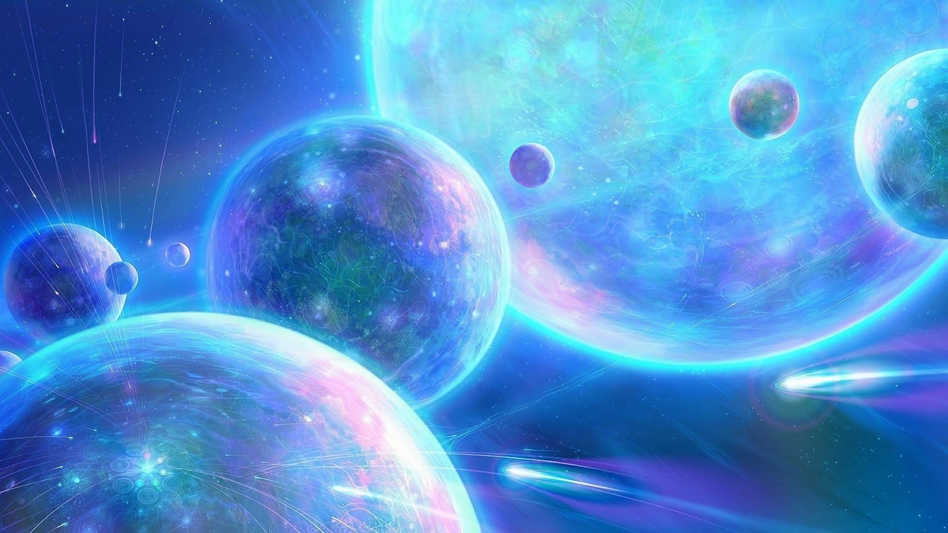 Description Download Beautiful Universe Digital Wallpaper
