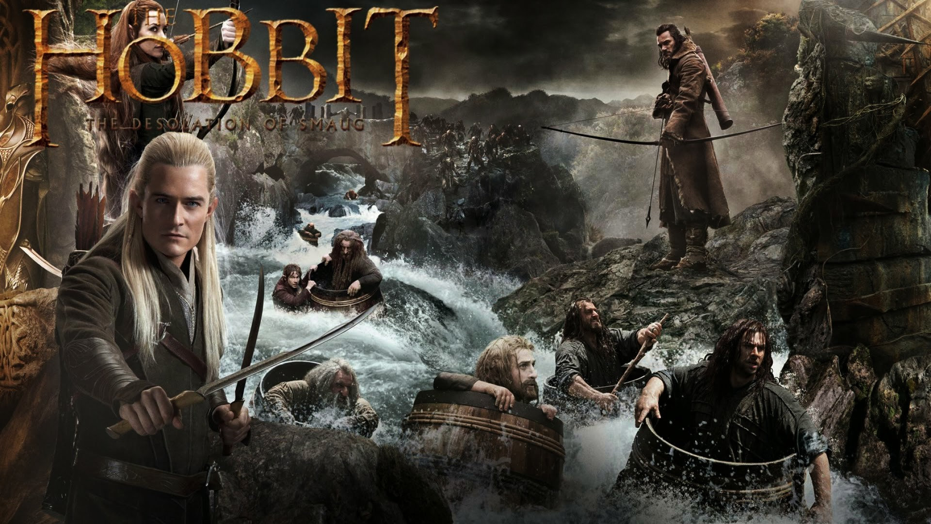 1920x1200 The Hobbit Desolation Of Smaug Wallpapers Hd Backgrounds1