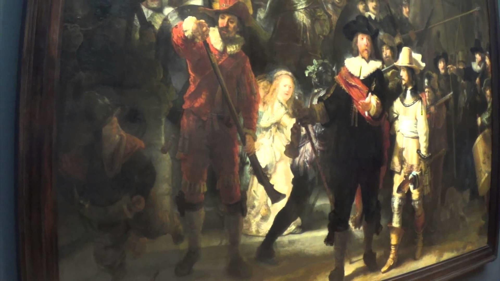 1920x1080 The Night Watch - a Rembrandt at the Rijksmuseum