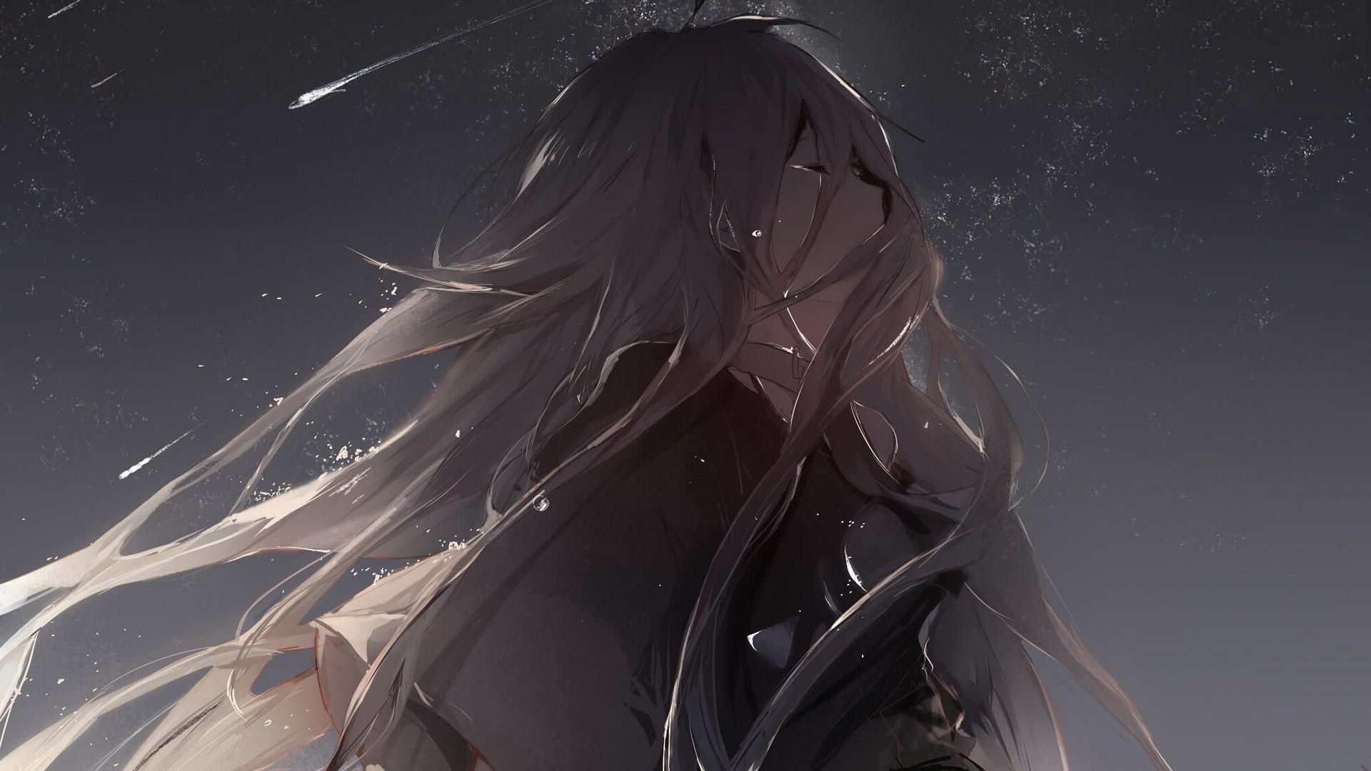 Sad anime wallpaper 64 images - Anime wallpaper 1360x768 hd ...