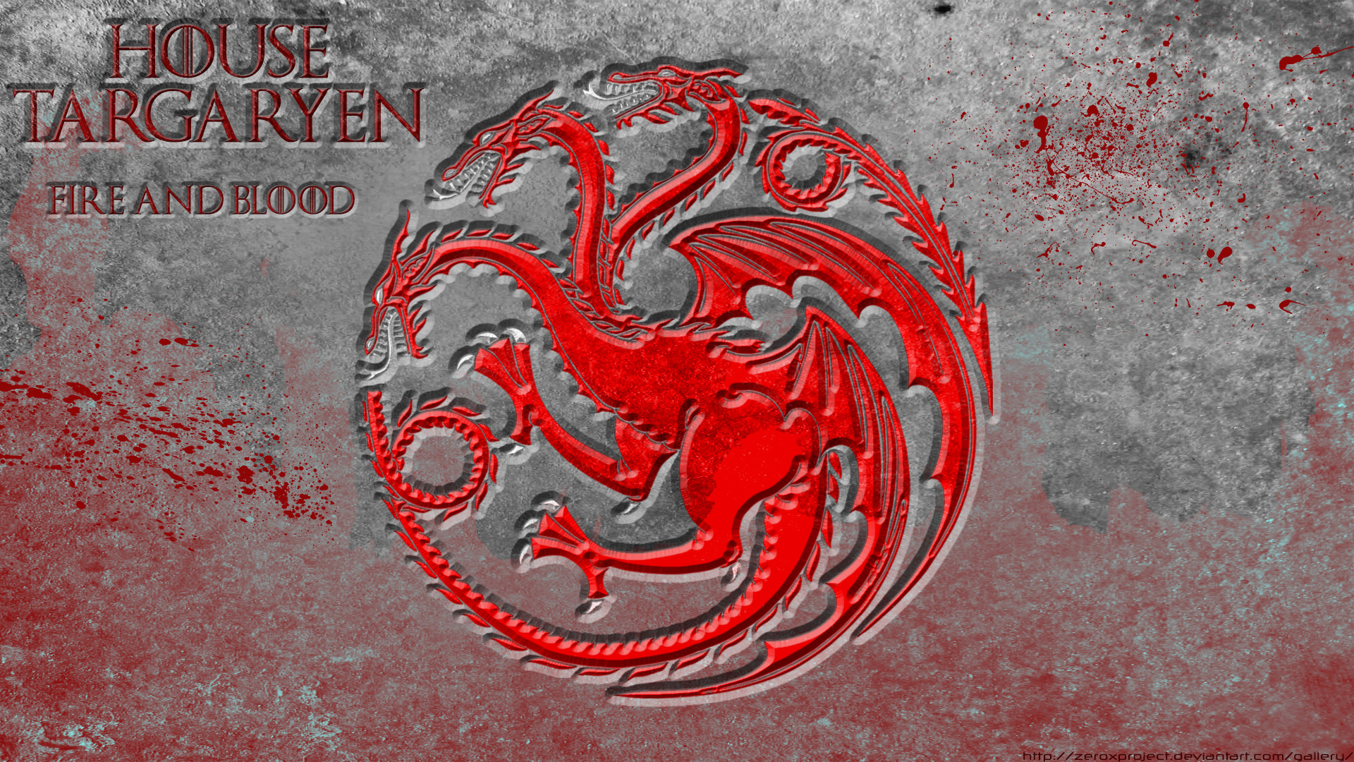 1920x1080 ... House Targaryen - Game Of Thrones -  HD by ZeroxProject