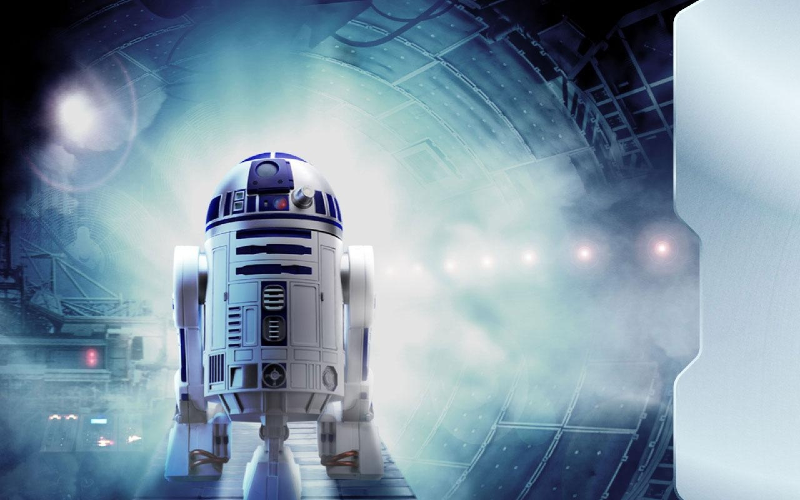 2560x1600 How two British superfans built Star Wars new R2 D2