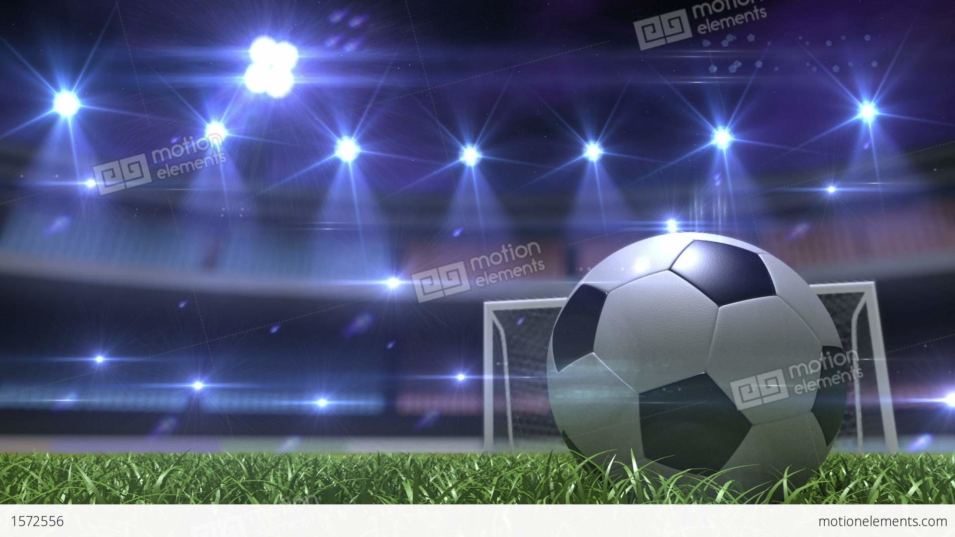 1920x1080 Football Background Stock Animation | Royalty-Free Stock Animation .