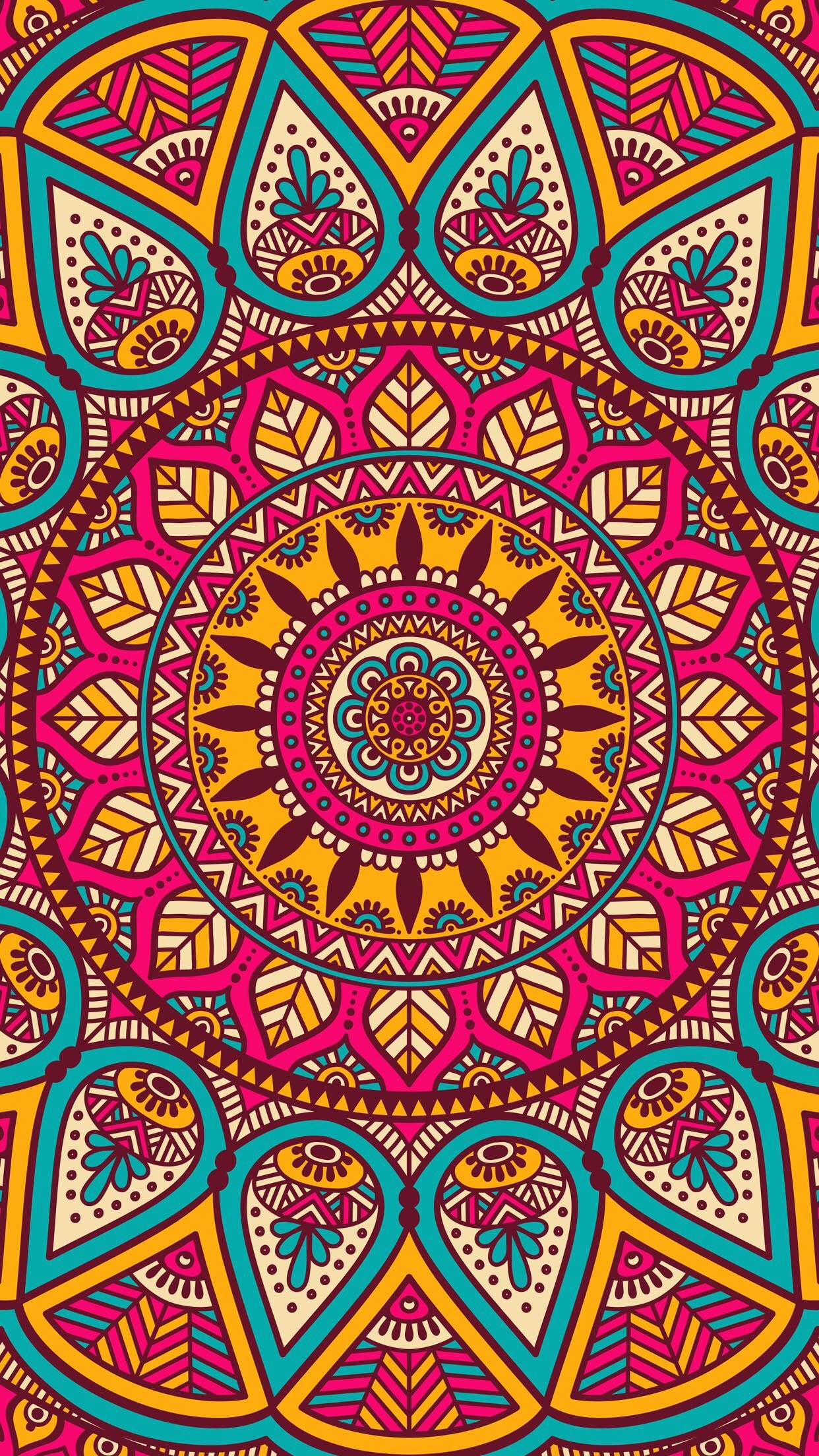 Mandala Wallpaper Iphone 67 Images