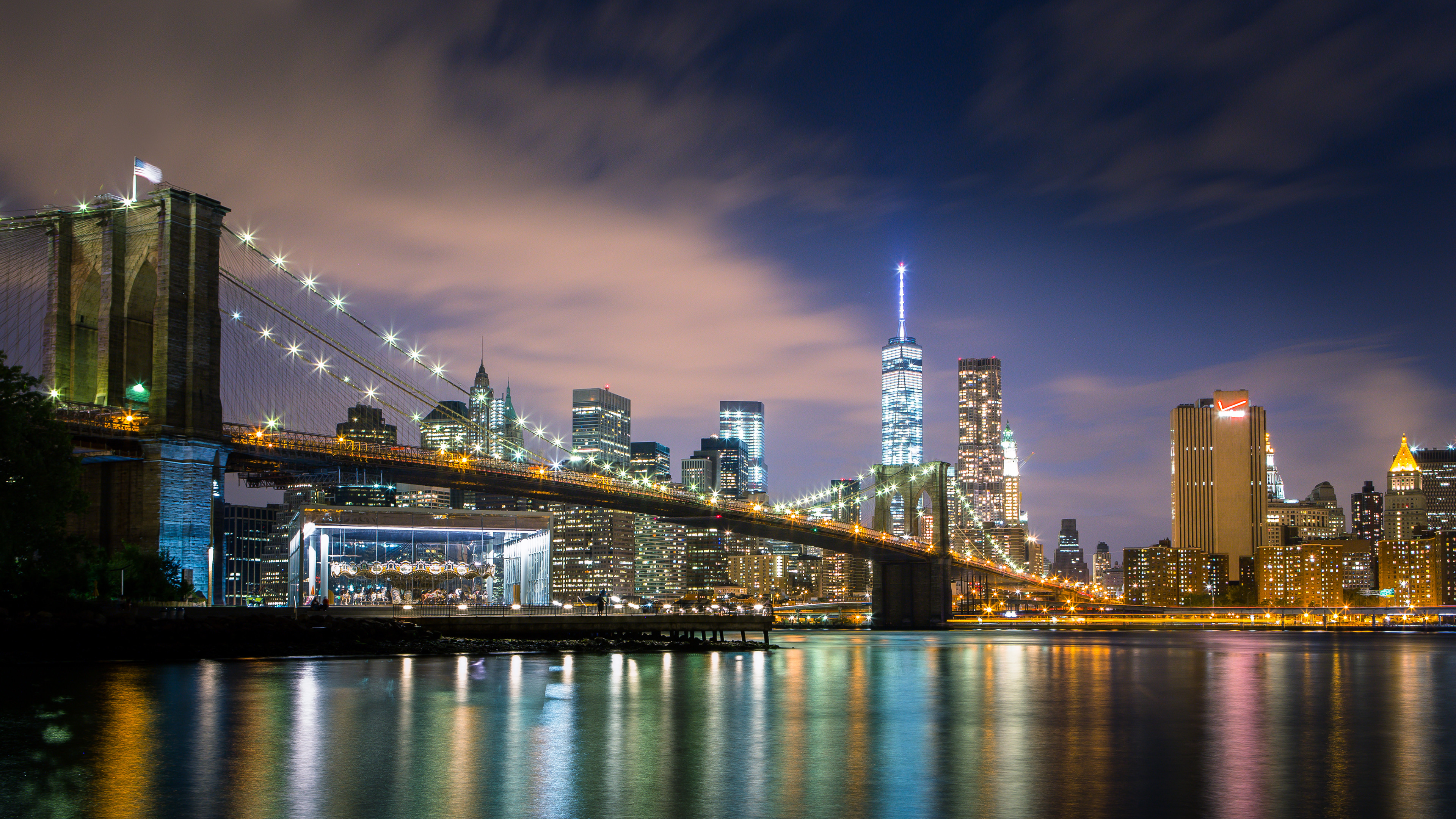 3840x2160 HD Wallpaper | Background Image ID:546073.  Man Made New York
