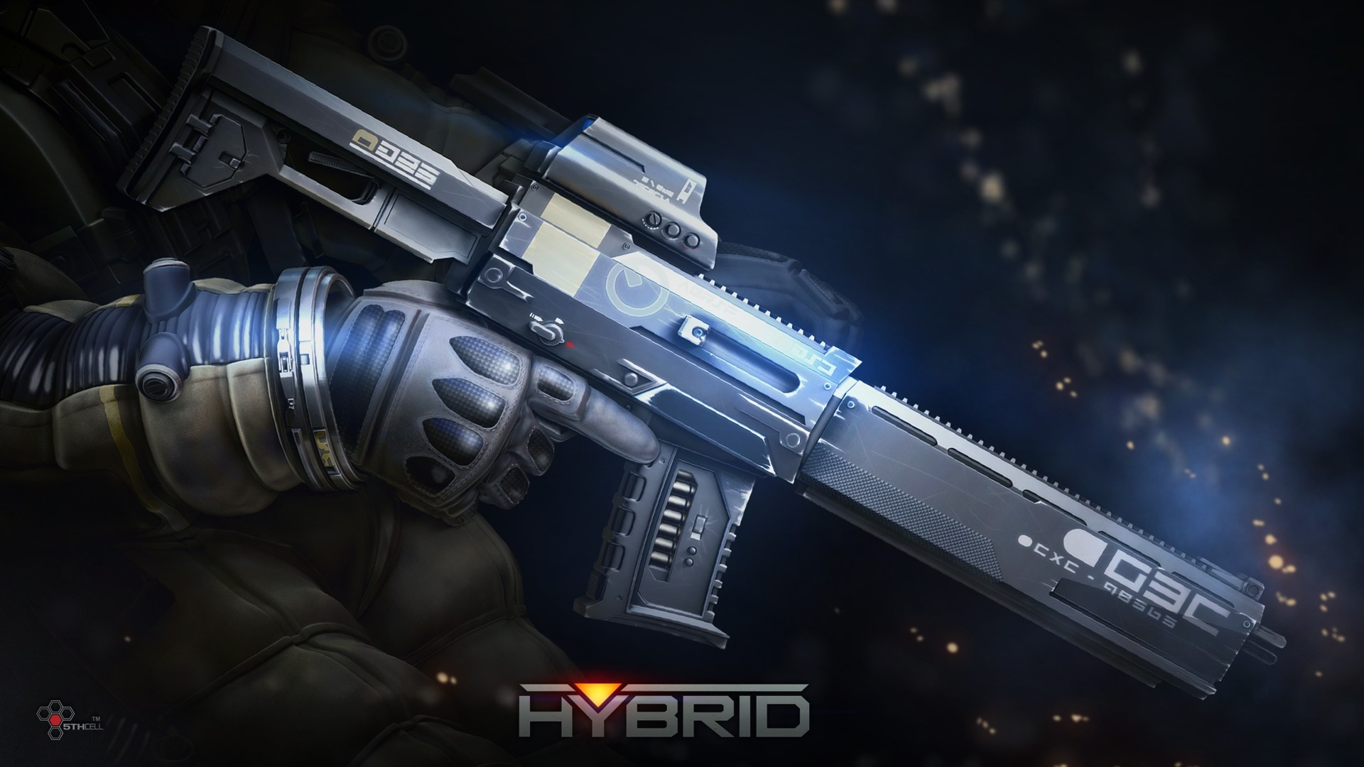 1920x1080 Hybrid Weapon - Hybrid Wallpaper