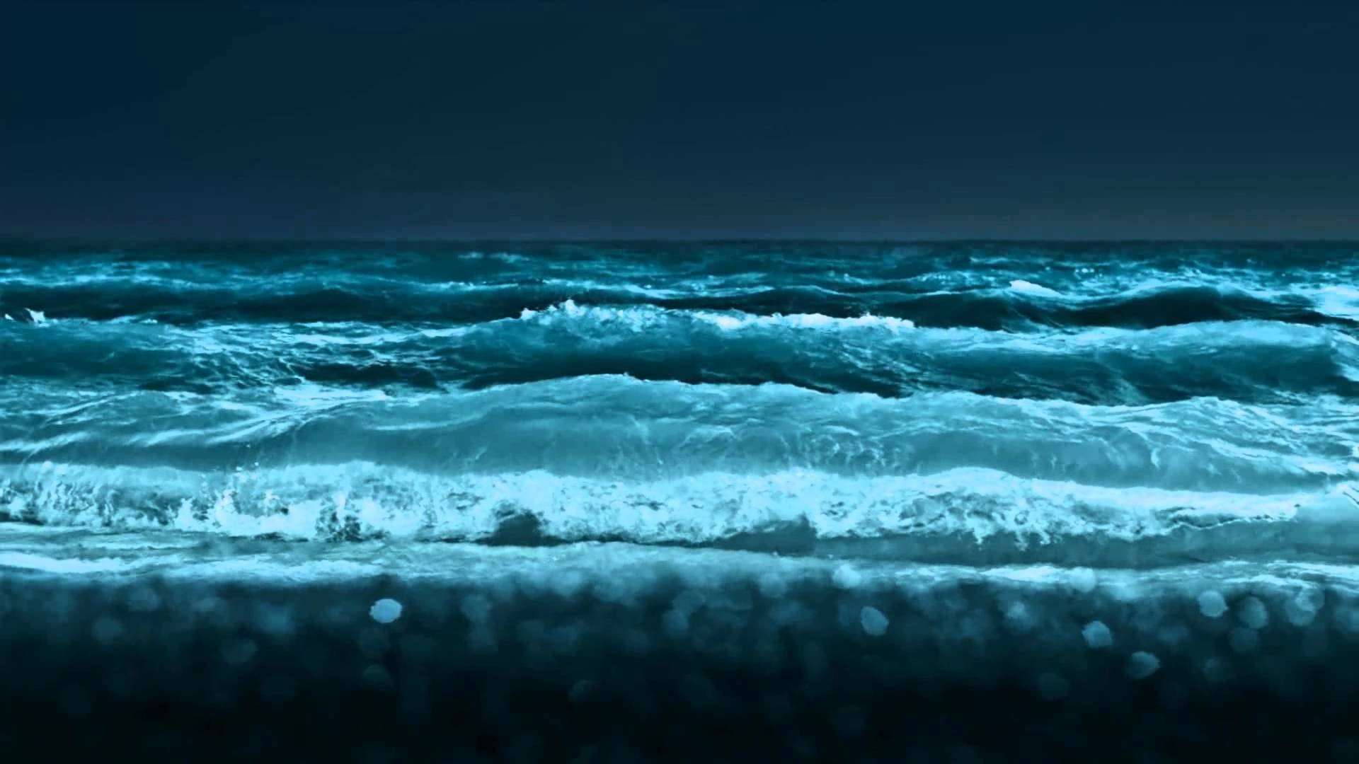 1920x1080 Ocean Waves Animated Wallpaper http://www.desktopanimated.com