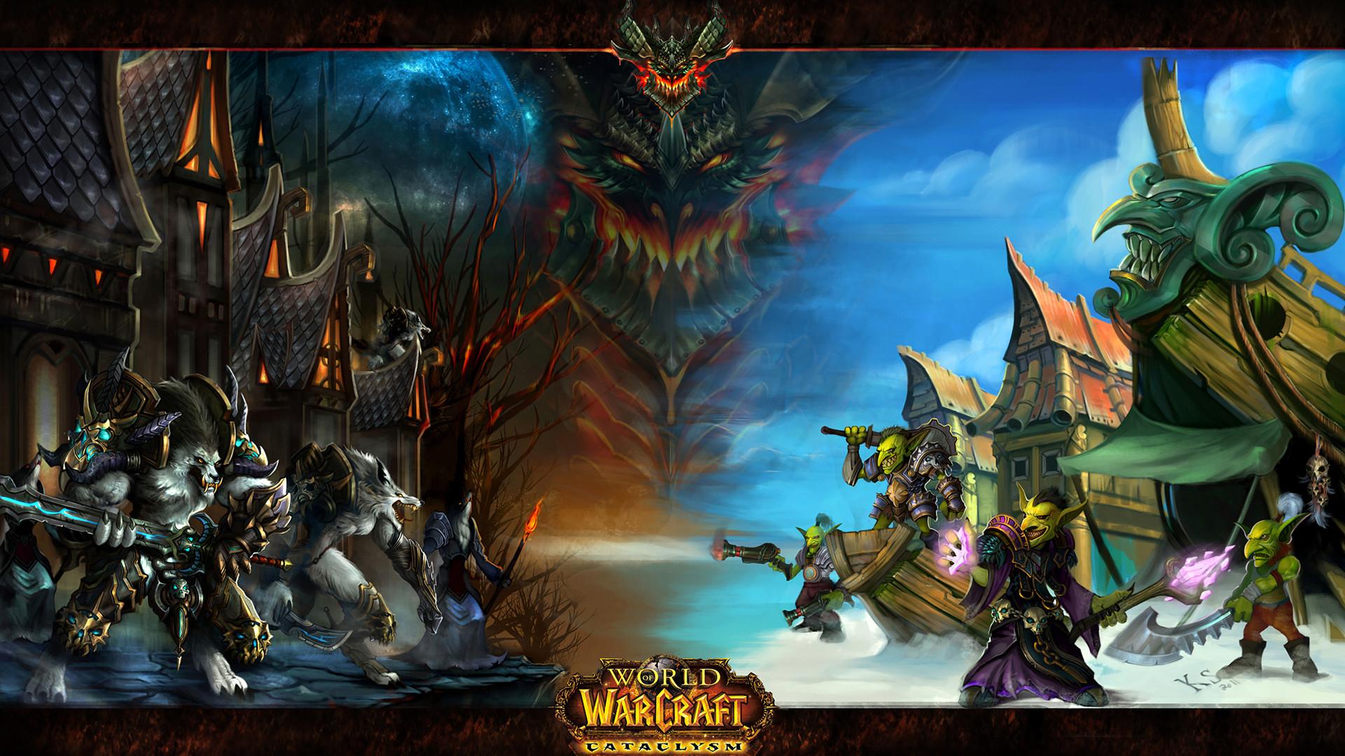 3840x2160 Preview wallpaper world of warcraft, gnome, goblin, rocket, art 3840x2160