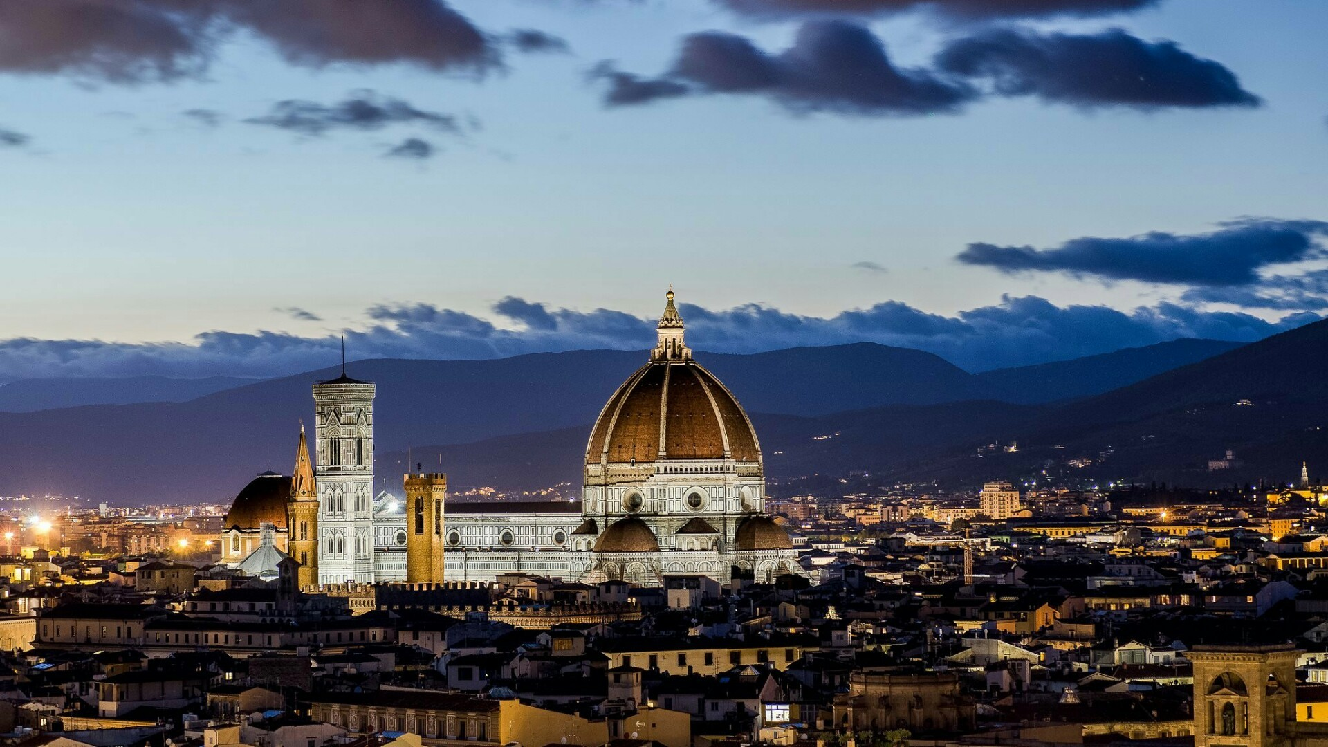 1920x1080 Florence Cathedral Wallpaper 6 - 1920 X 1080