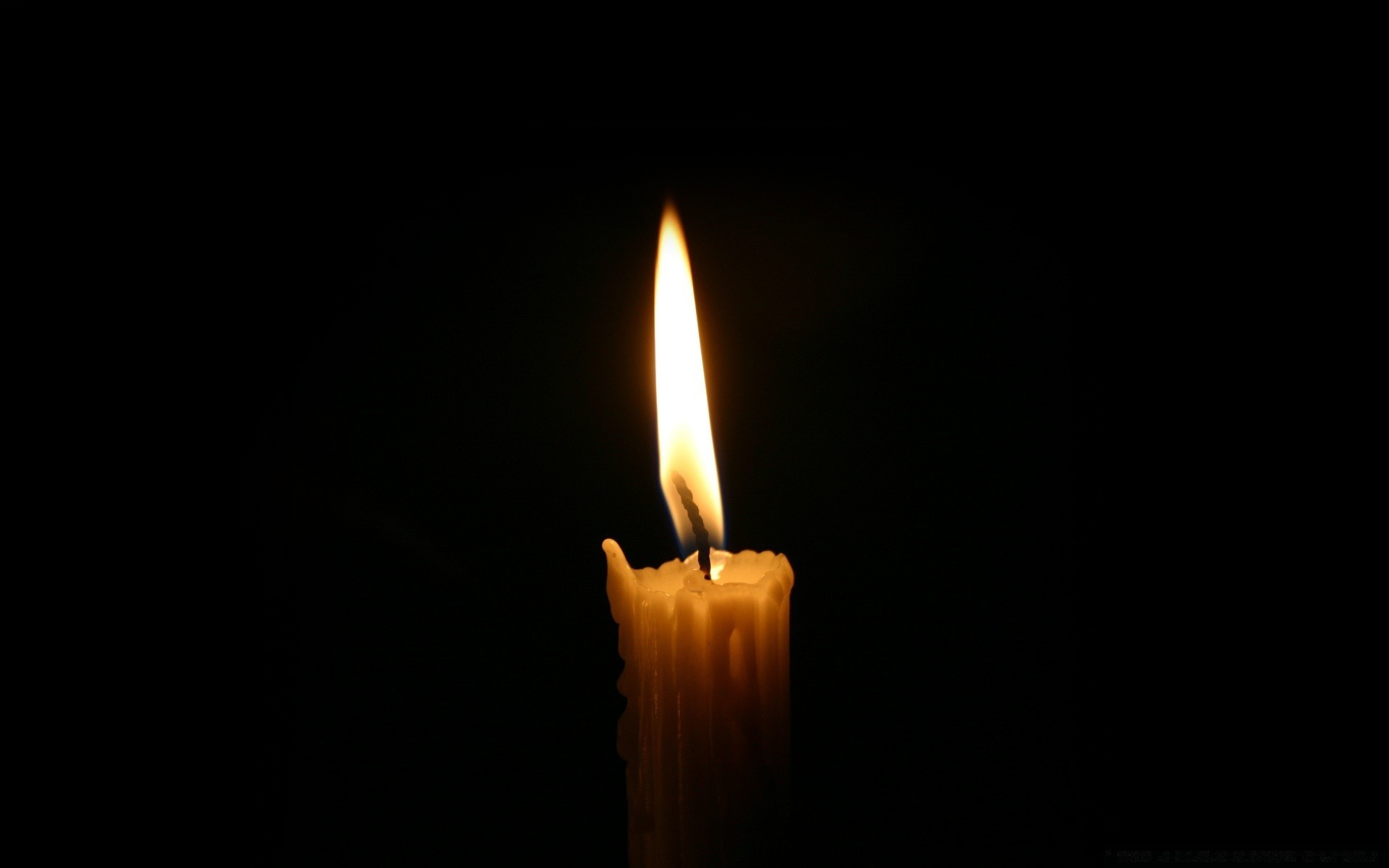 1920x1200 Black flame candle burnt wax dark candlelight christmas burn HD wallpaper.  Android wallpapers for free.