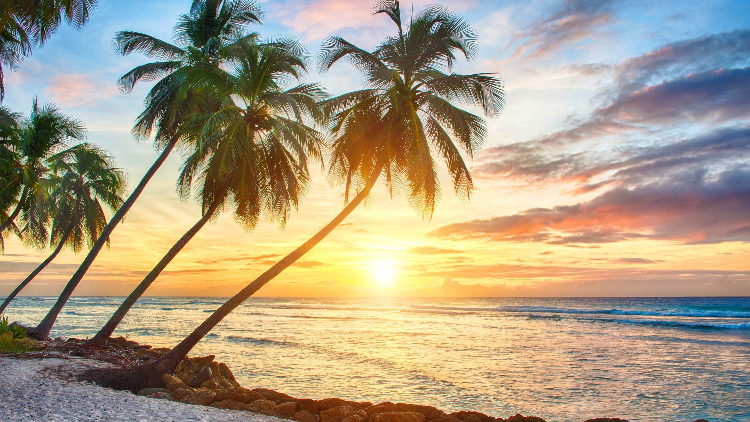 Hd Tropical Island Beach Paradise Wallpapers And Backgrounds: Tropical Desktop Background (56+ Images