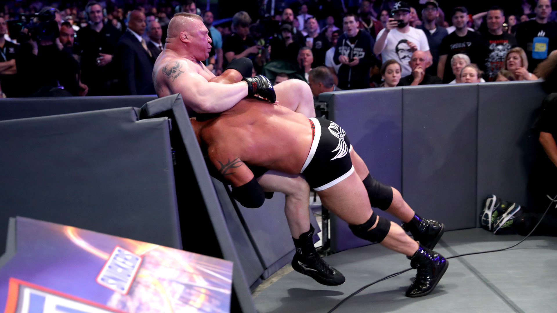 1920x1080 Goldberg vs. Brock Lesnar - Universal Title Match: WrestleMania 33 (WWE  Network Exclusive) | WWE