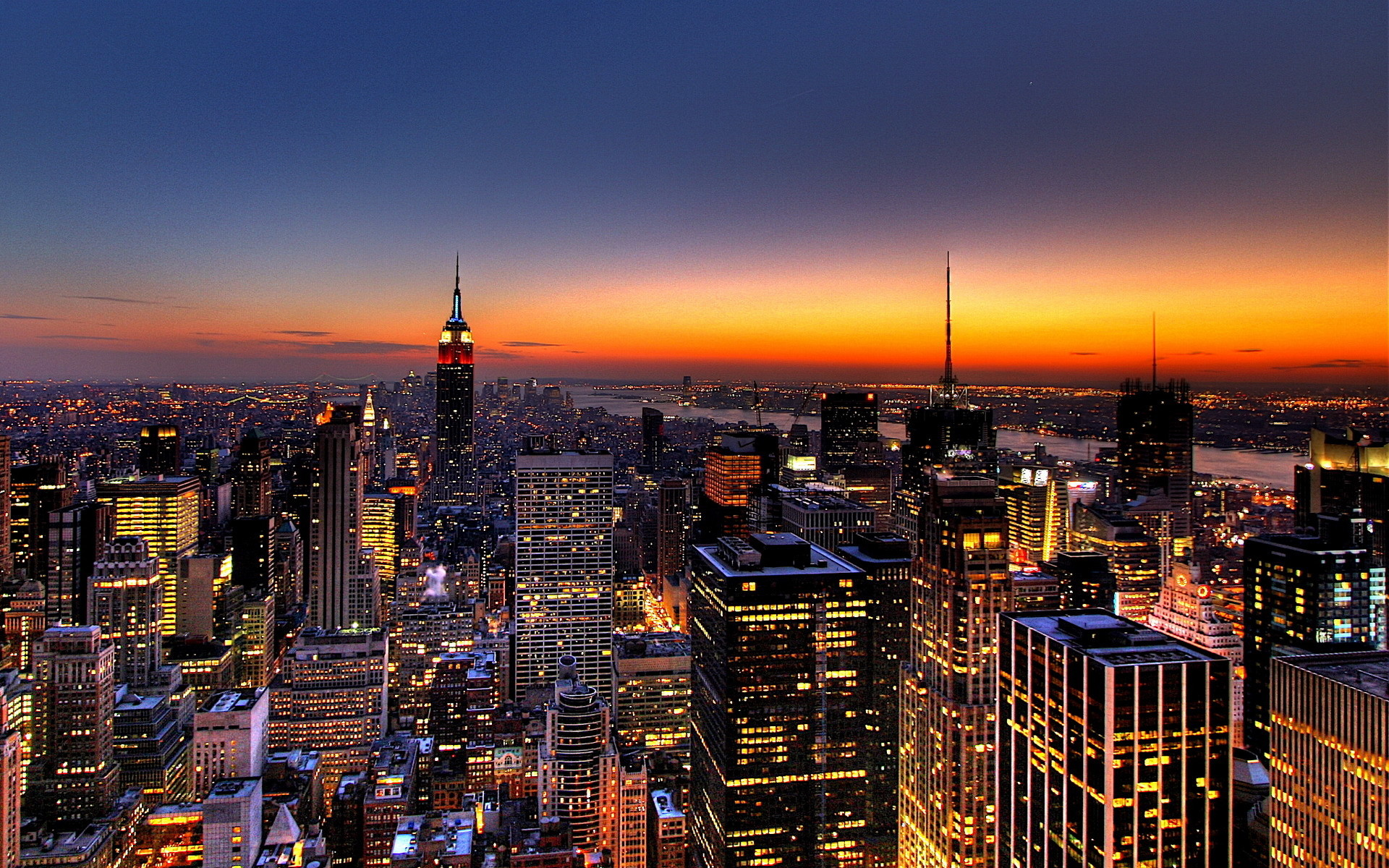 1920x1200 NY Skyline - usa wallpaper