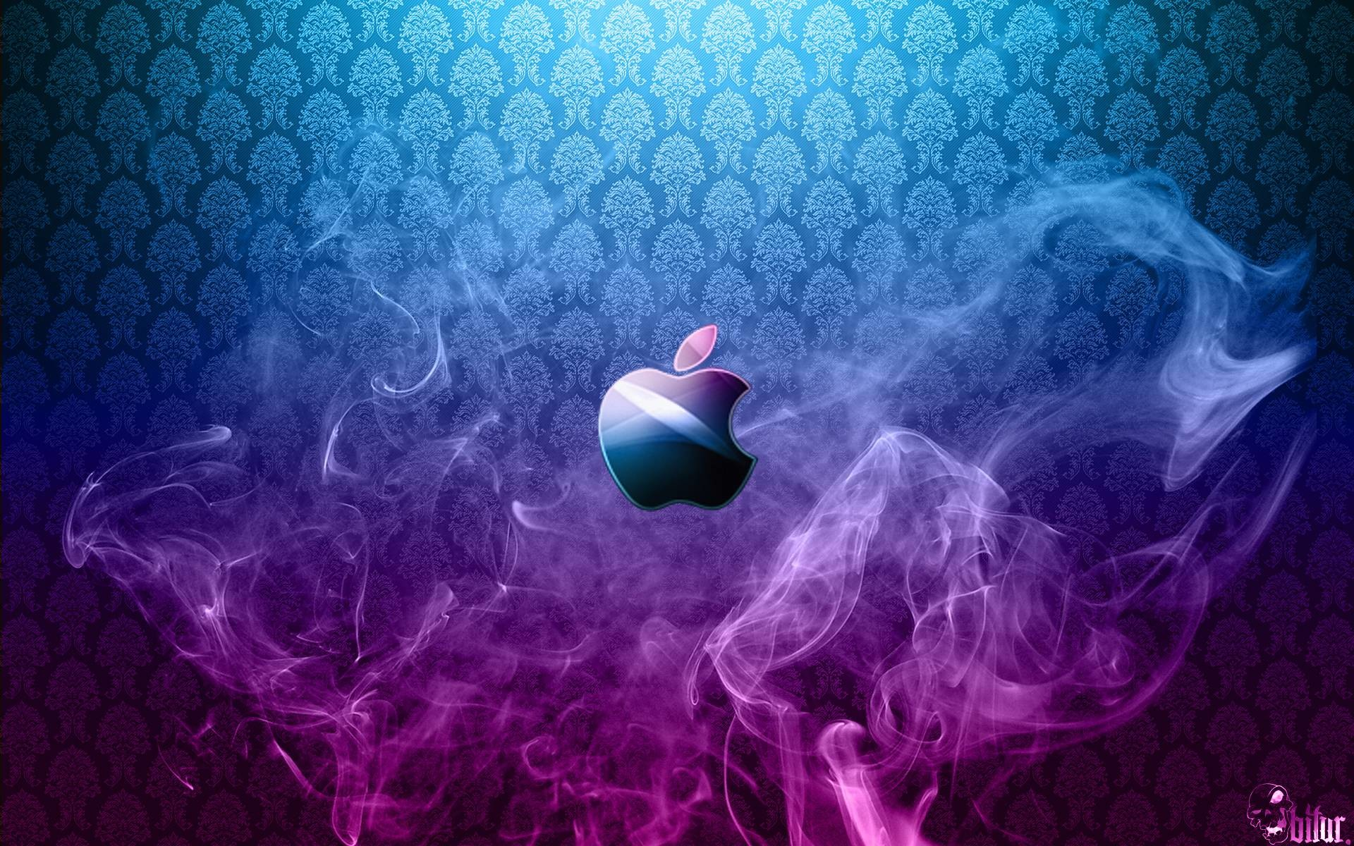 1920x1200 Purple Blue Apple Wallpapers HD HD
