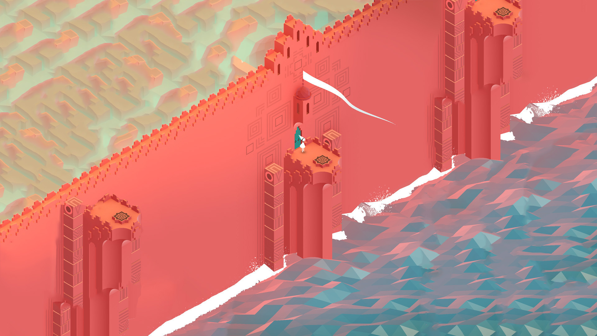 1920x1080 Monument Valley Wallpaper