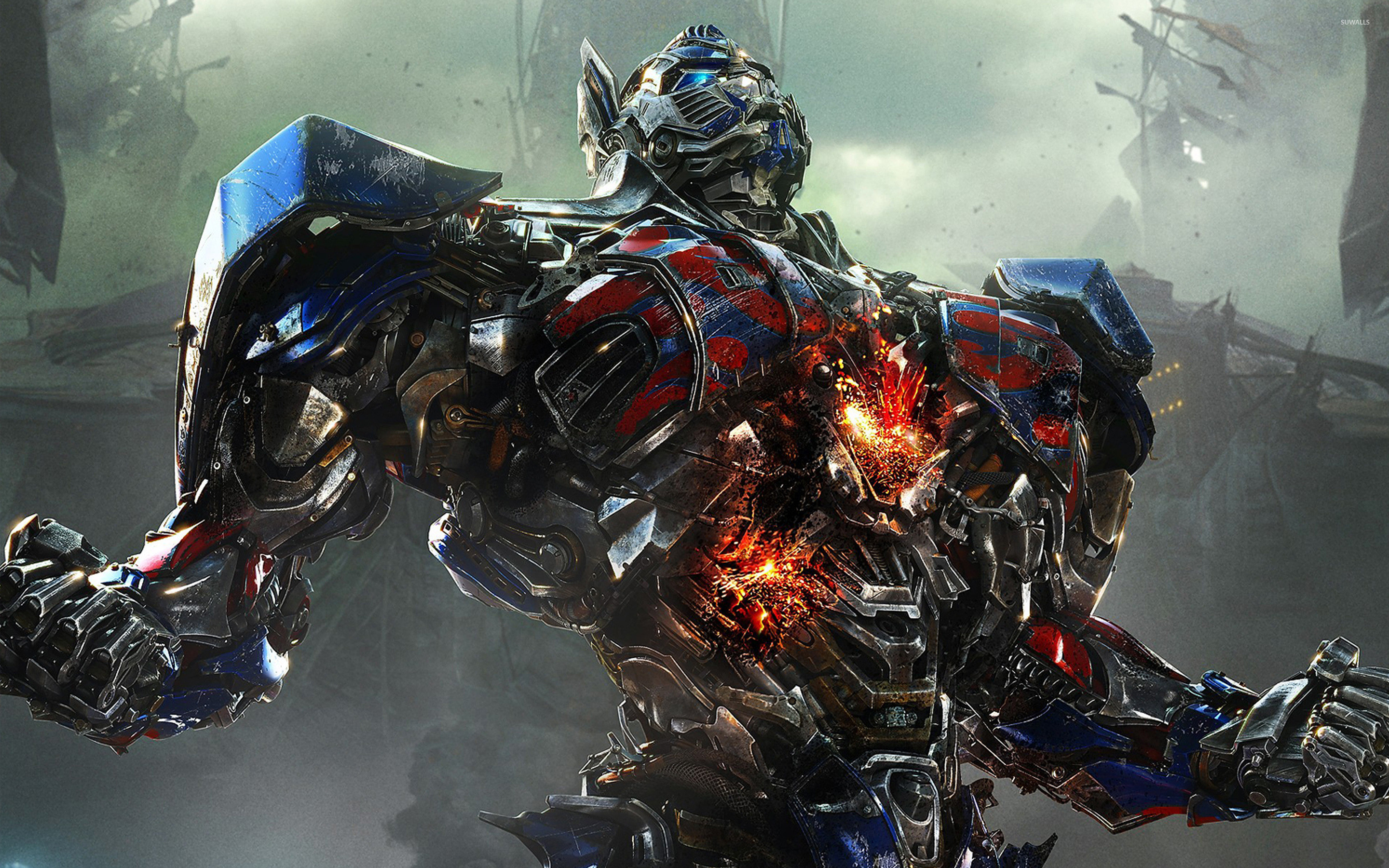 2880x1800 Optimus Prime - Transformers: Age of Extinction [2] wallpaper