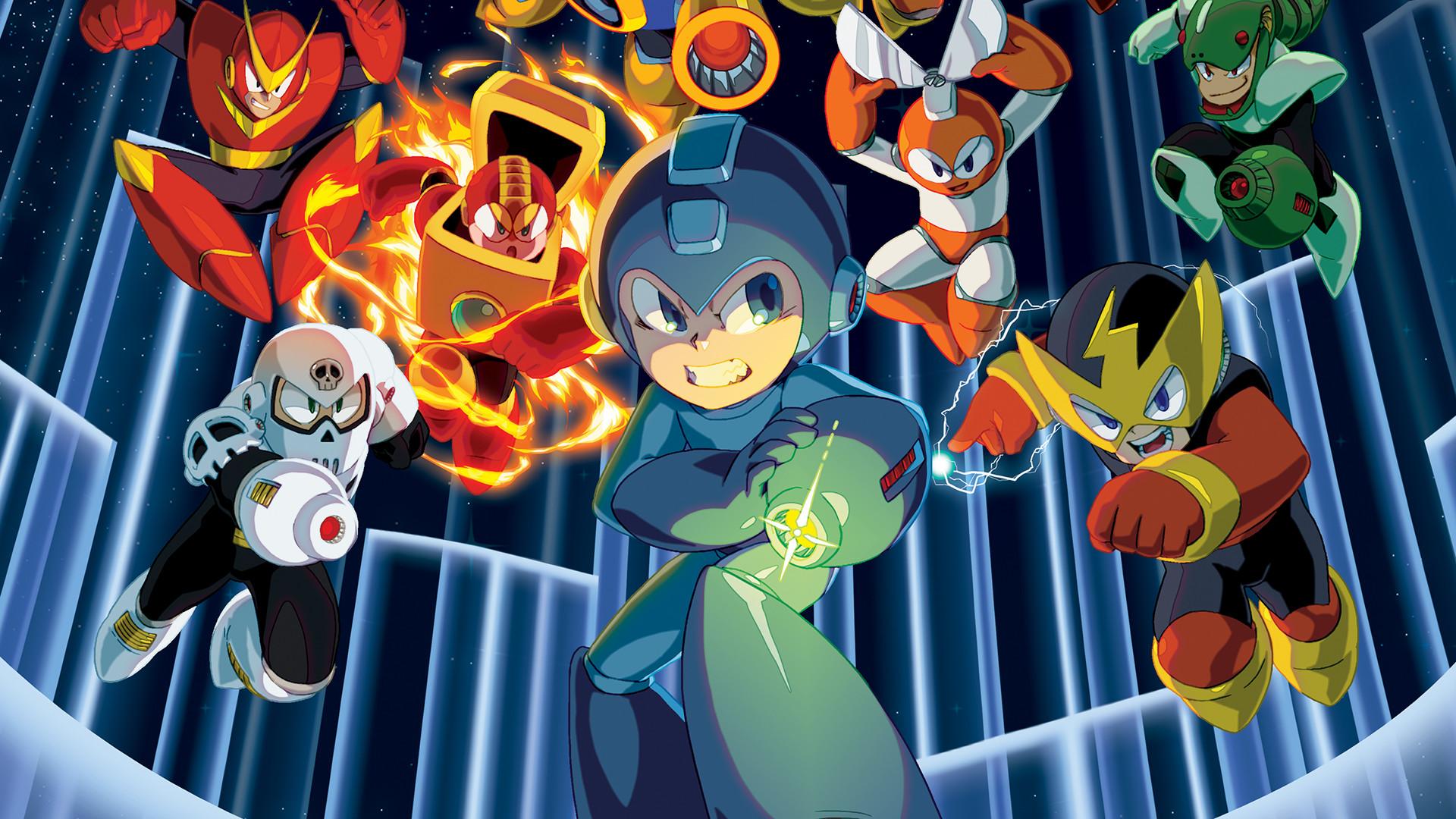Mega Man Star Force 3 iPhone Wallpaper Download (click to view)