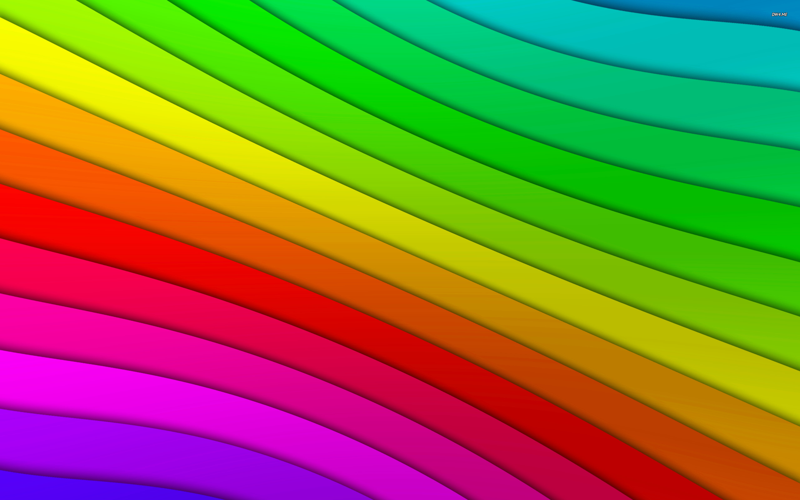 2560x1600 Colored curved lines wallpaper