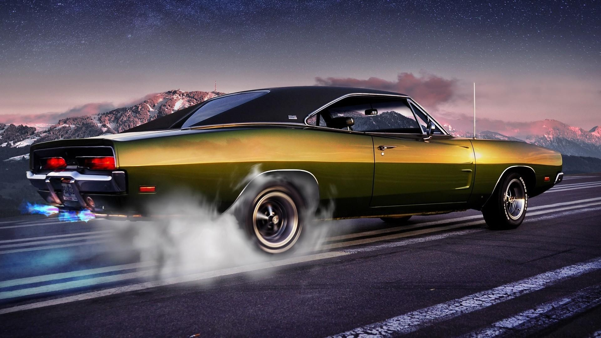 1920x1080 Muscle Cars Wallpaper Wide #Bqo