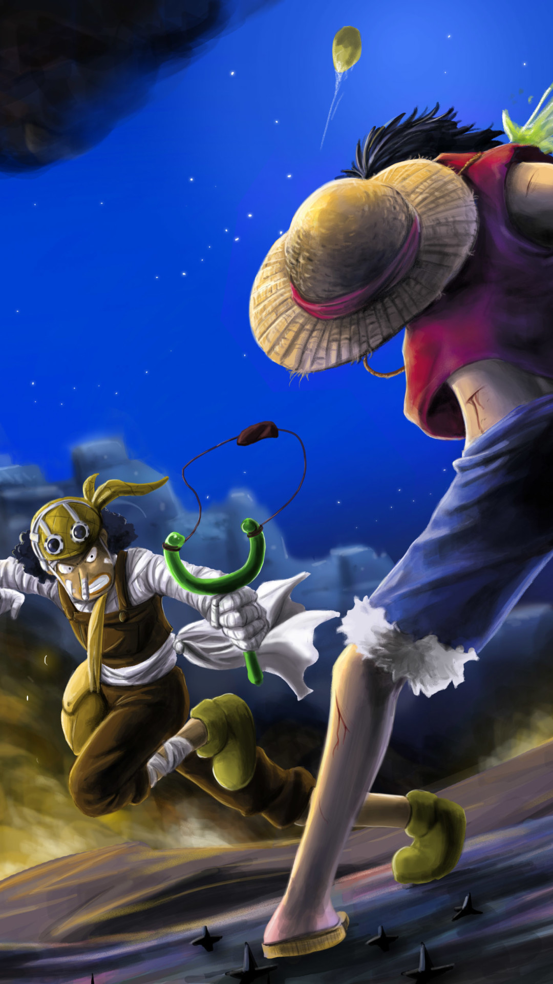 piece iphone luffy vs usopp ace mom animated anime getwallpapers chopper