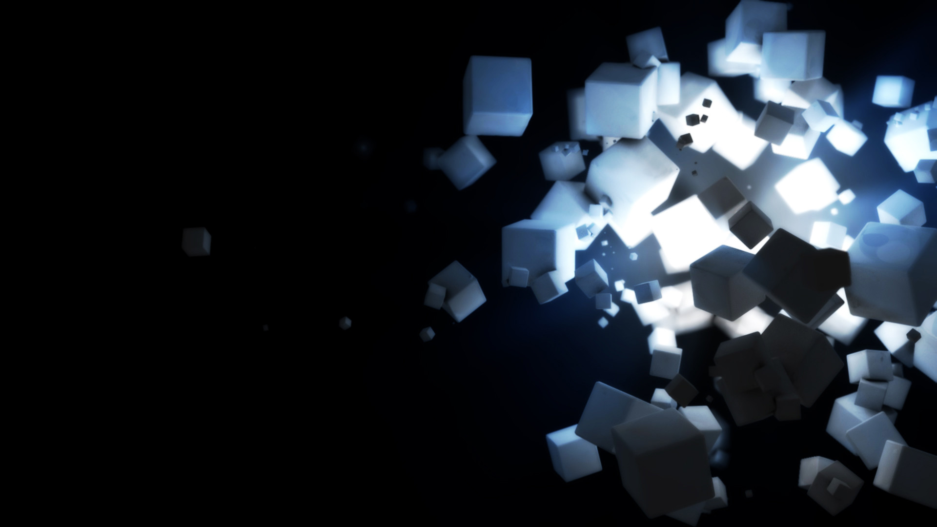 1920x1080 Dark Cubes Wallpapers | HD Wallpapers