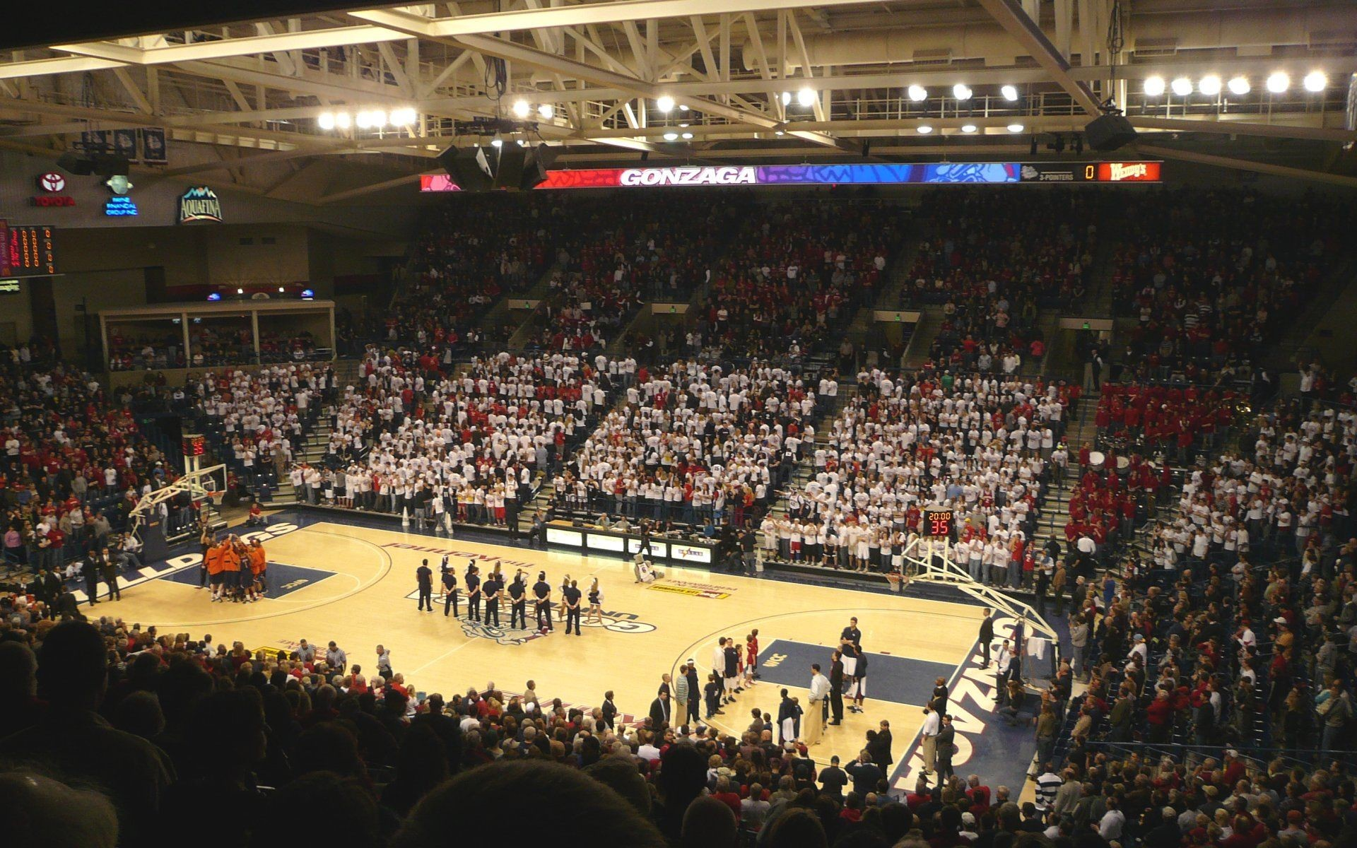1920x1200 West Coast Conference College Basketball Arena Wallpapers