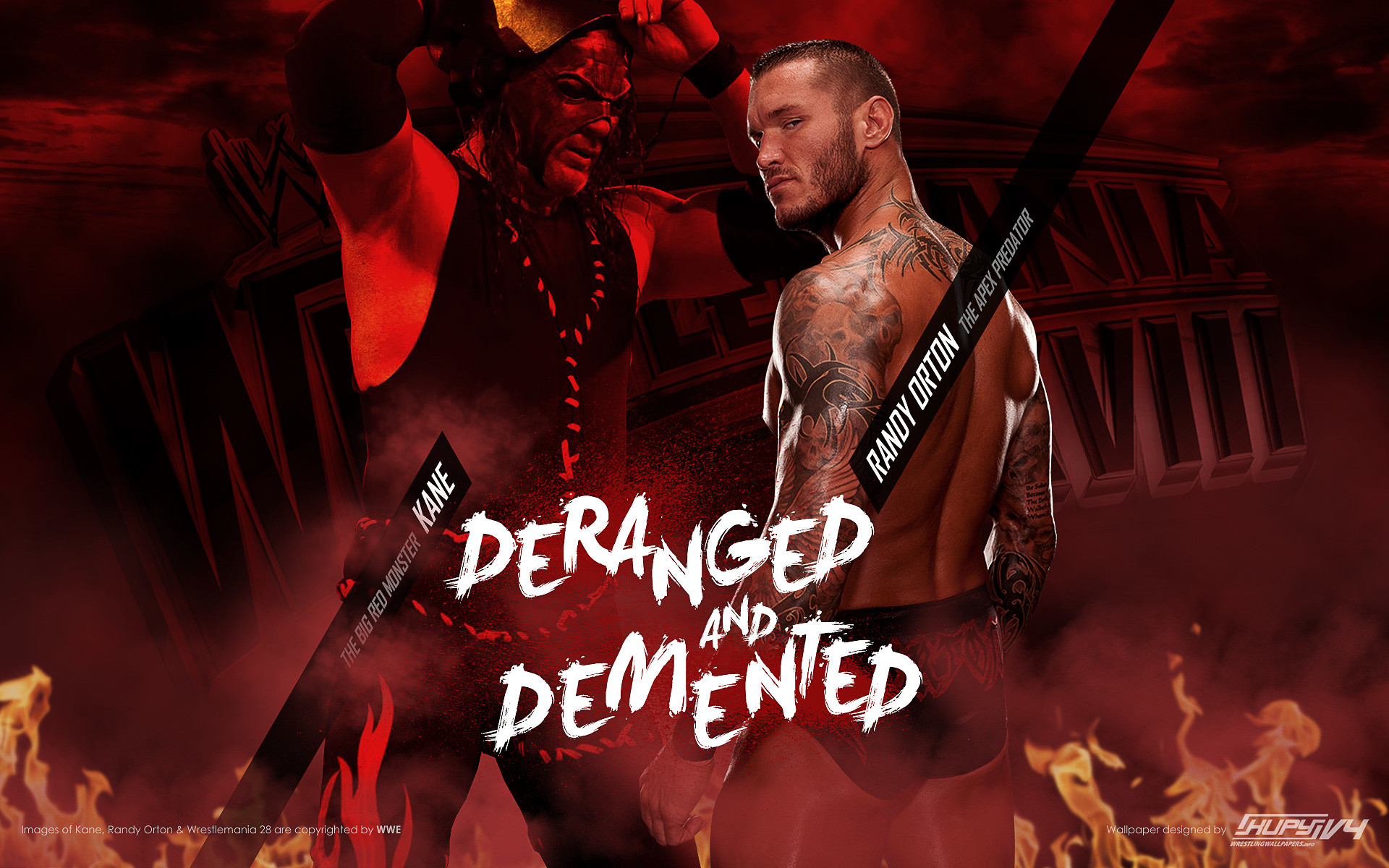 1920x1200 Randy Orton WrestleMania 28 WWE wallpaper 1920×1200 ...