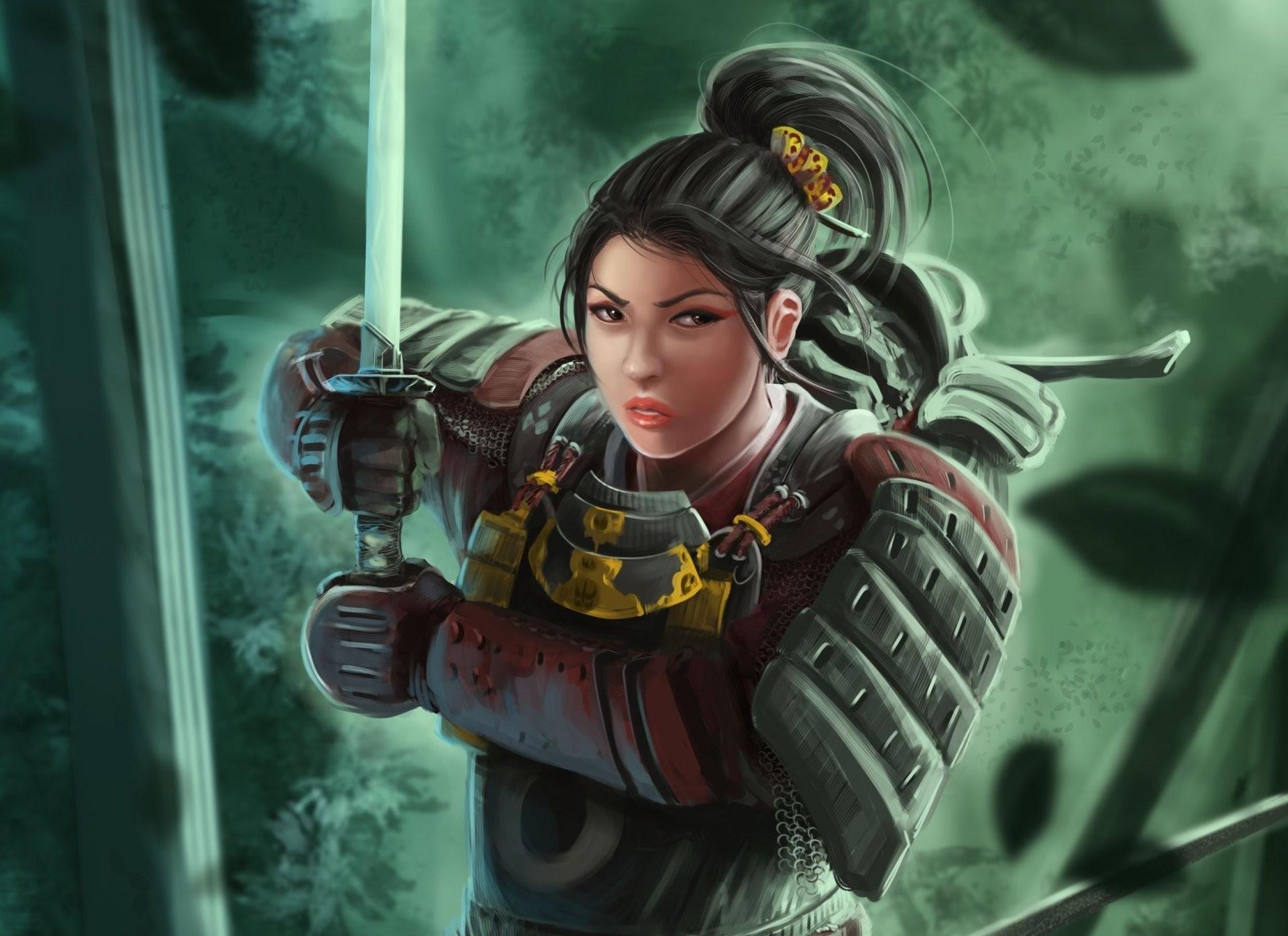 Samurai Girl Wallpaper 76 Images