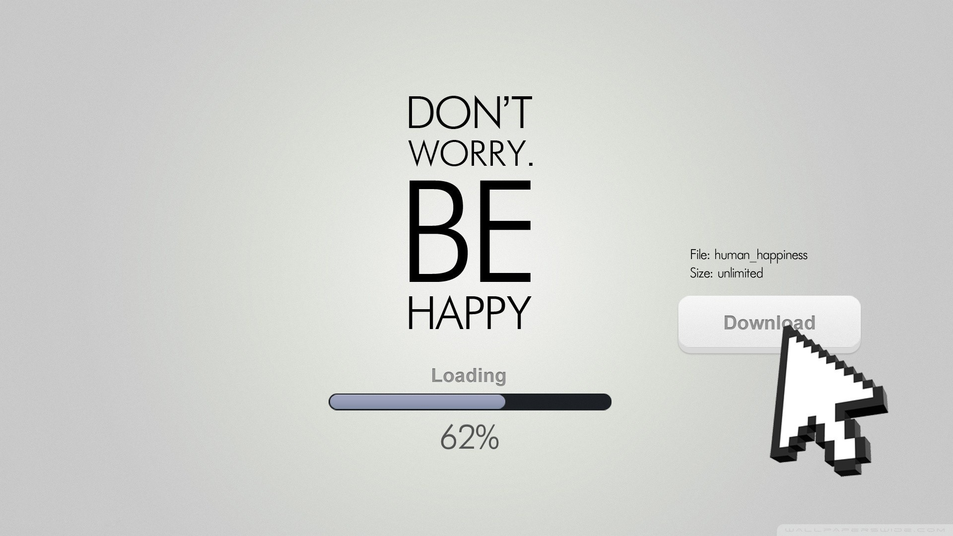 1920x1080 Dont Worry, Be Happy HD Wide Wallpaper for Widescreen
