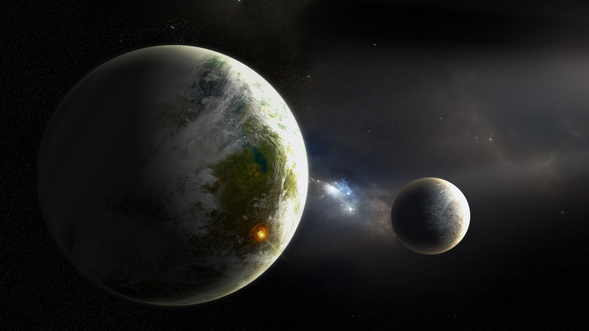 1920x1080 ... Backgrounds space, Planet, Moon, Earth, Awesome Face Wallpapers HD /  Desktop .