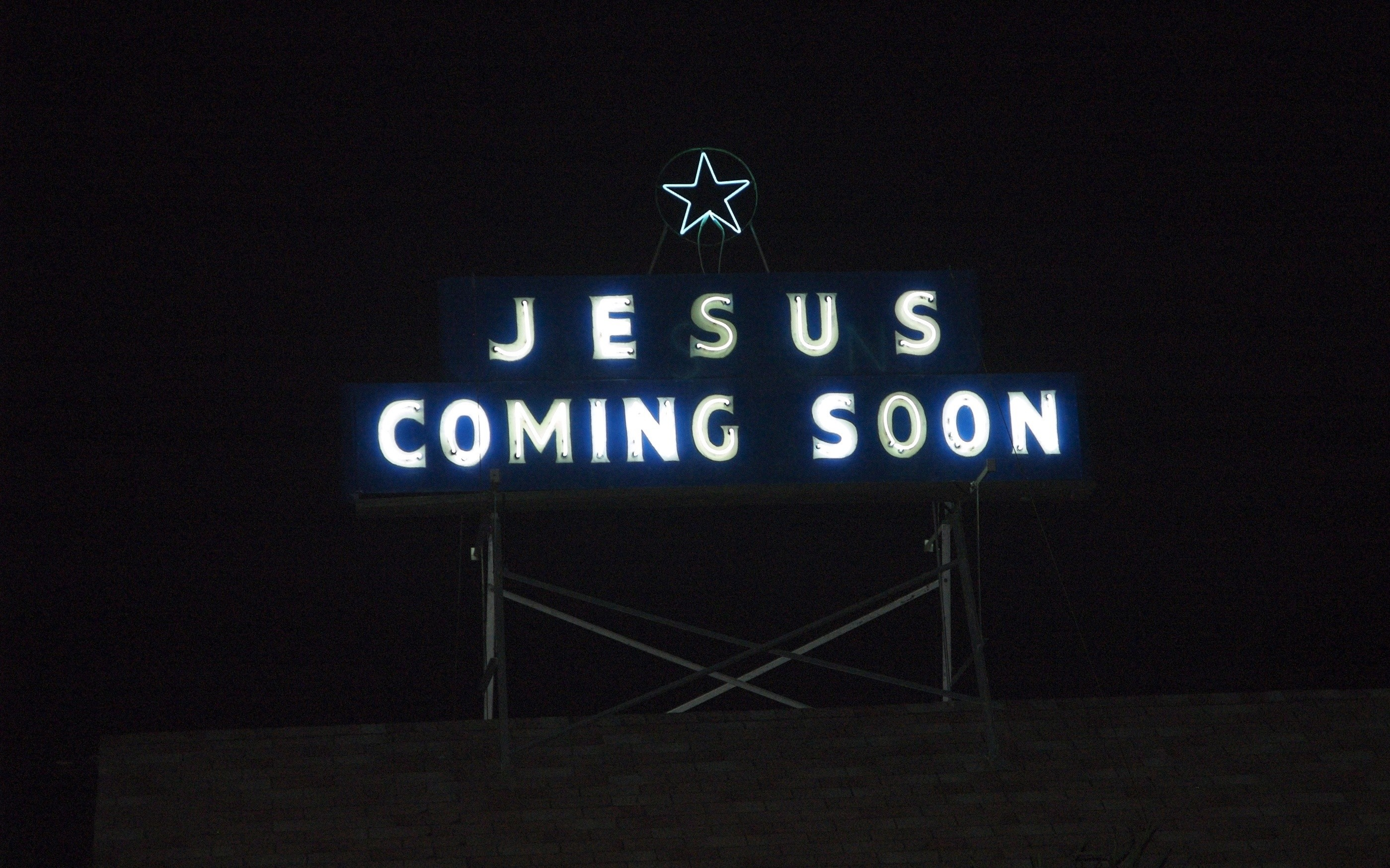2798x1748 Jesus is Coming Christmas wallpaper