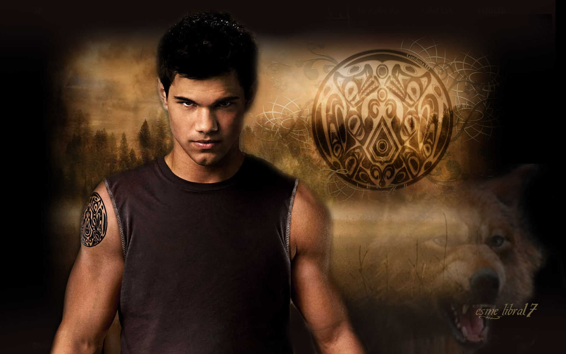 1920x1200 HD Wallpaper and background photos of jacob black for fans of twilight  Crepúsculo images.