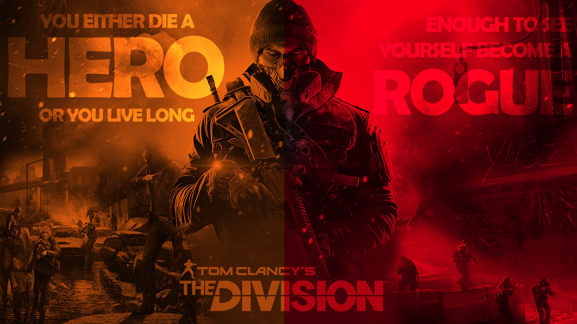 1920x1080 Become a Rogue - The Division Wallpaper ...