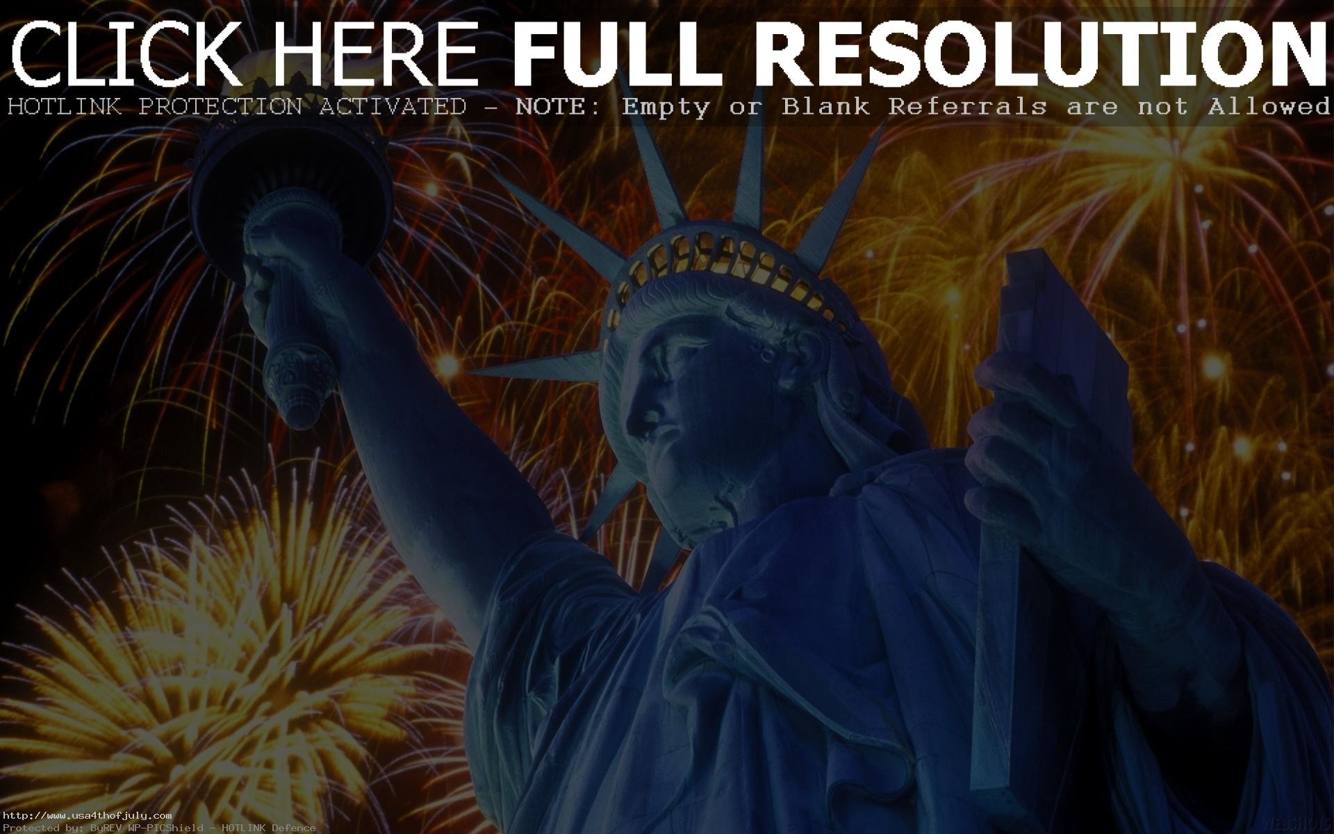 1920x1200 Fourth of July Fireworks Wallpaper