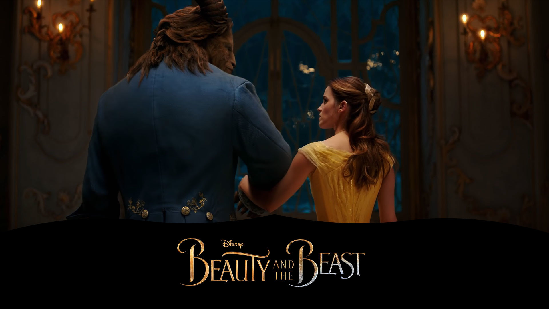 Download Beauty And Beast: Beauty And The Beast Wallpaper (79+ Images