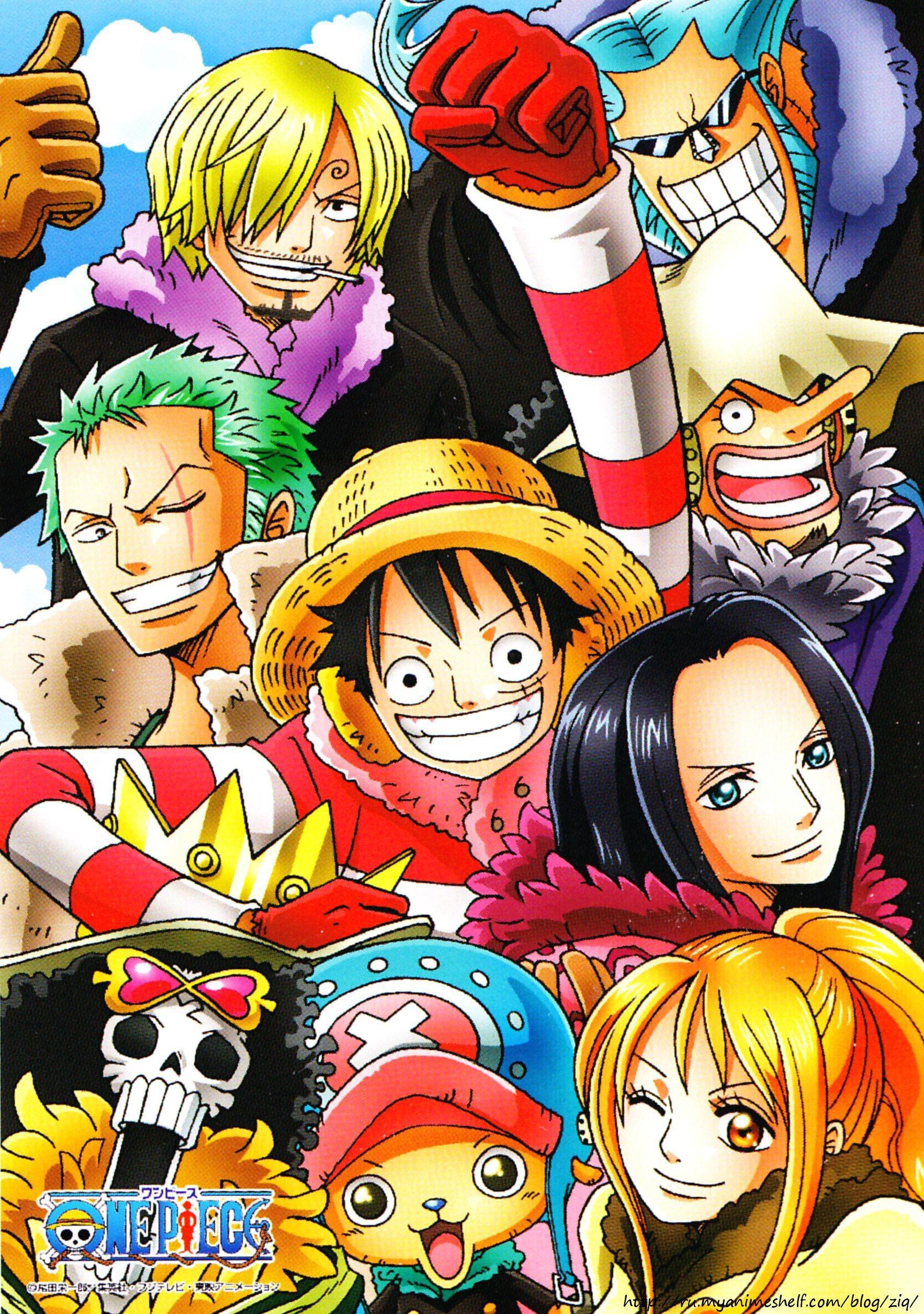 One Piece Chibi Wallpa...