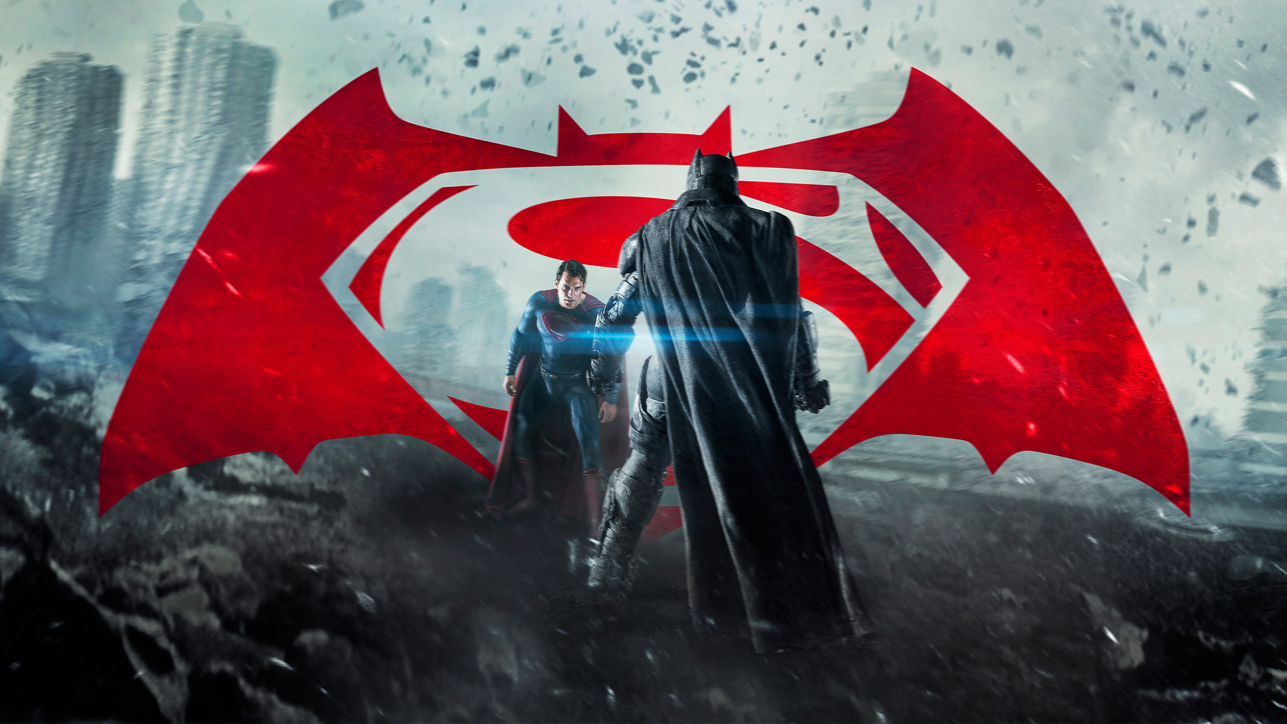 2560x1440 Wallpaper Batman vs Superman, Dawn of Justice, Batman, Superman HD 4K